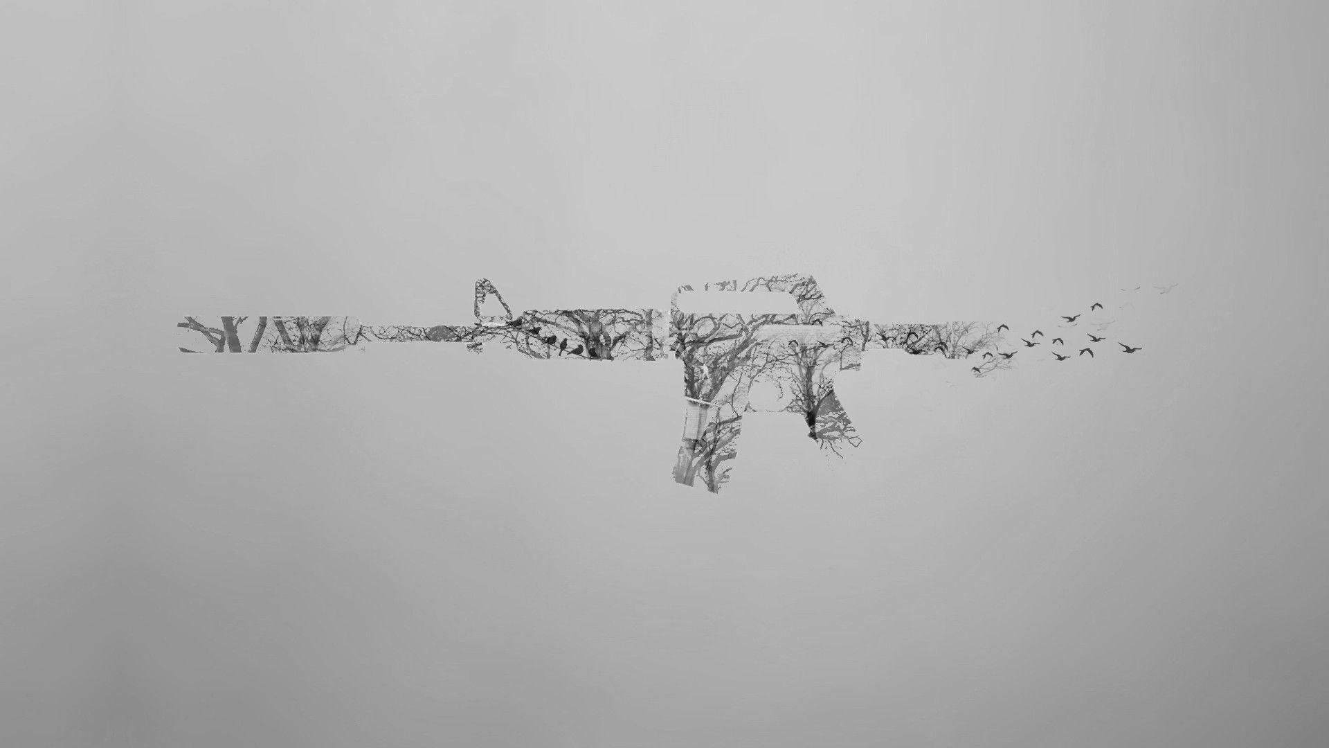 White Minimalism Wallpaper