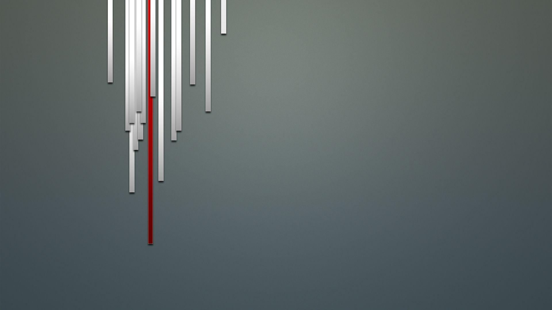 White Minimalism Free Desktop Wallpaper