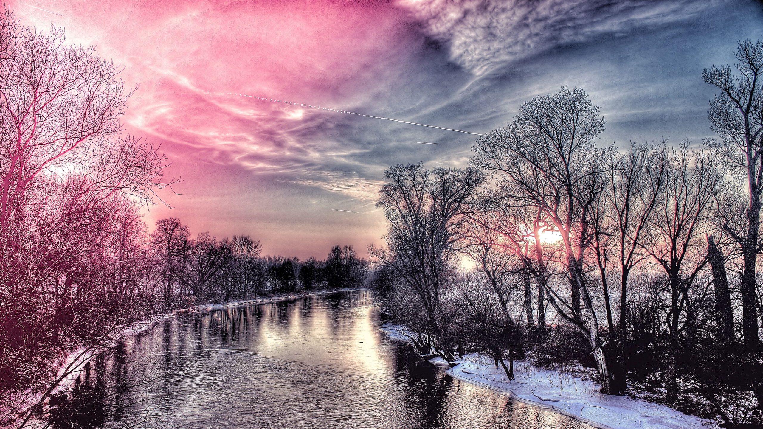 Winter Snow Scenes hd wallpaper 1080p for pc