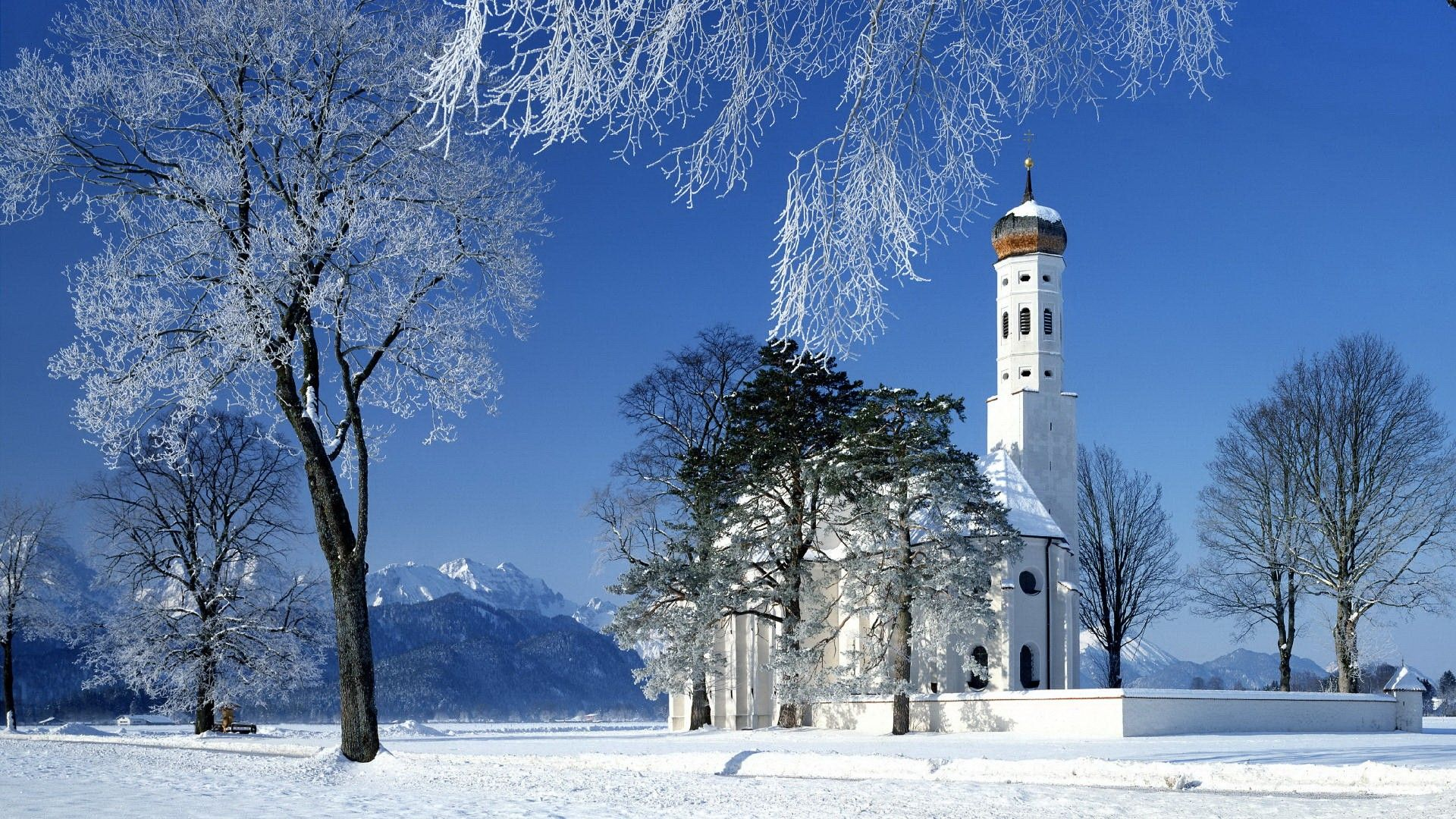Winter Snow Scenes Cool Wallpaper