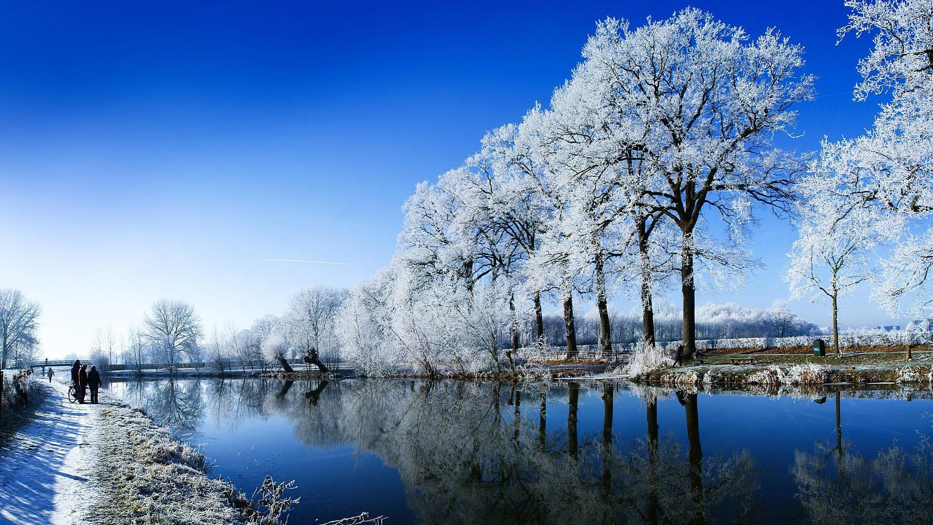 Winter Snow Scenes Good Wallpaper