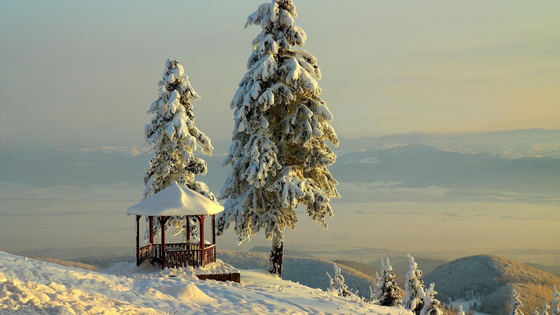 Winter Snow Scenes desktop wallpaper download