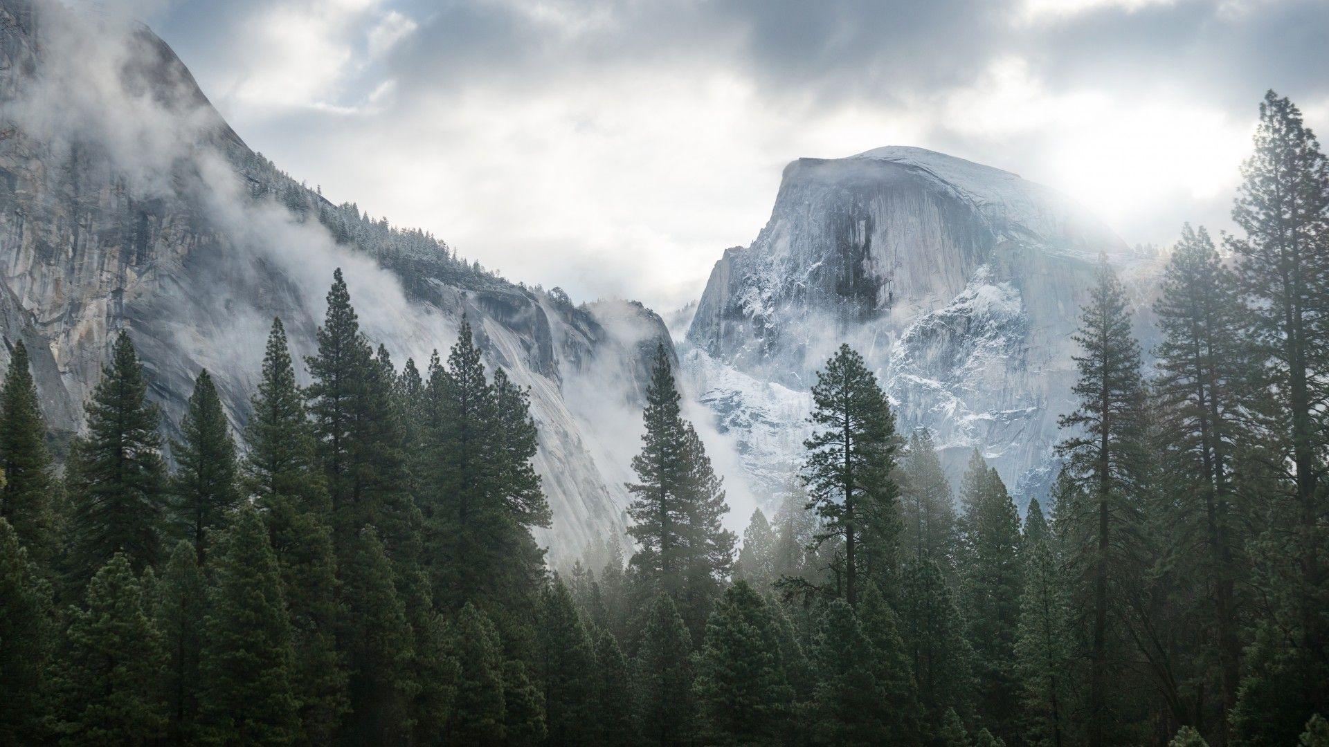 Yosemite computer wallpaper