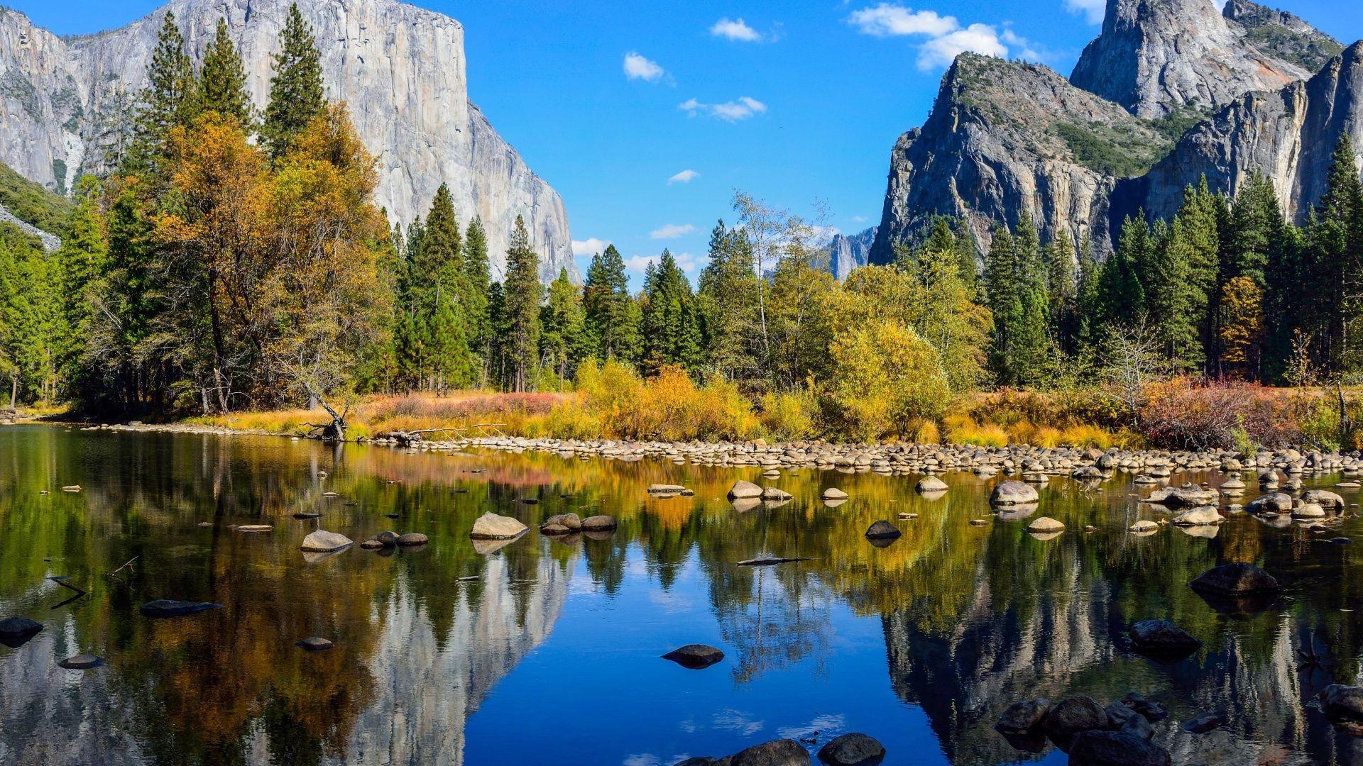 Yosemite background wallpaper
