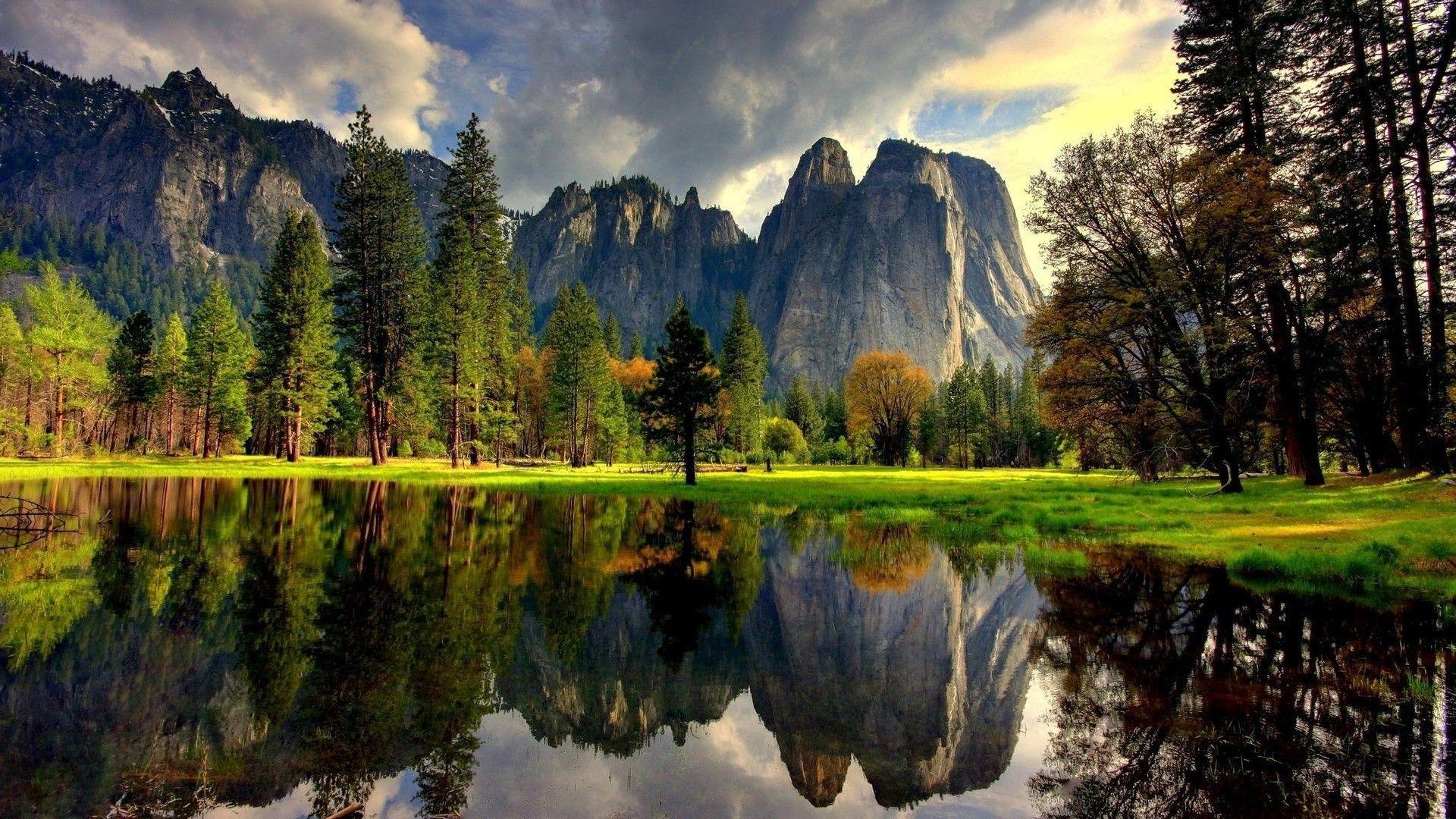 Yosemite Cool HD Wallpaper