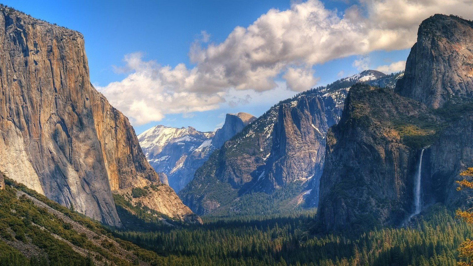Yosemite beautiful wallpaper