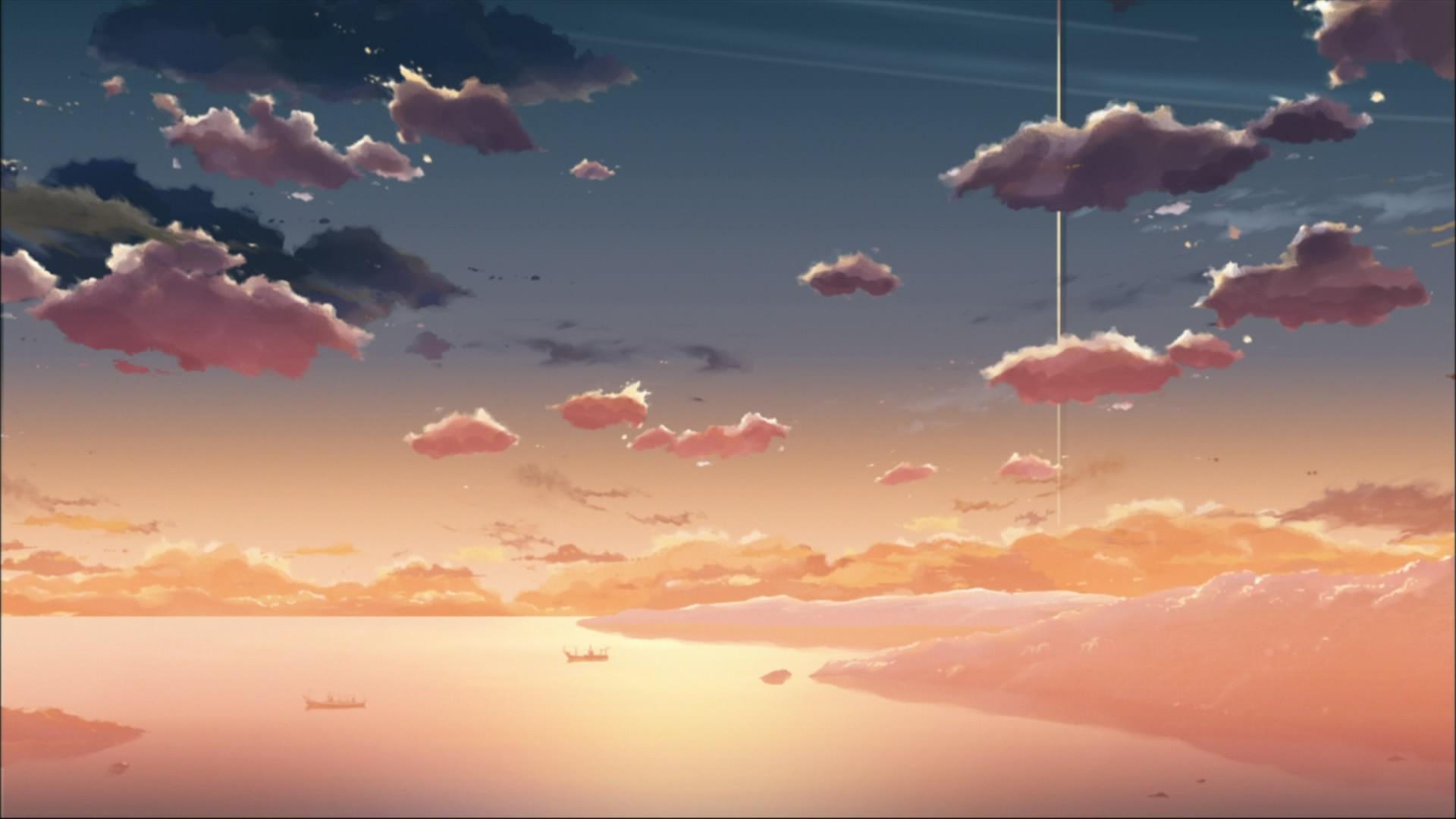 Anime Cloud Free Wallpaper