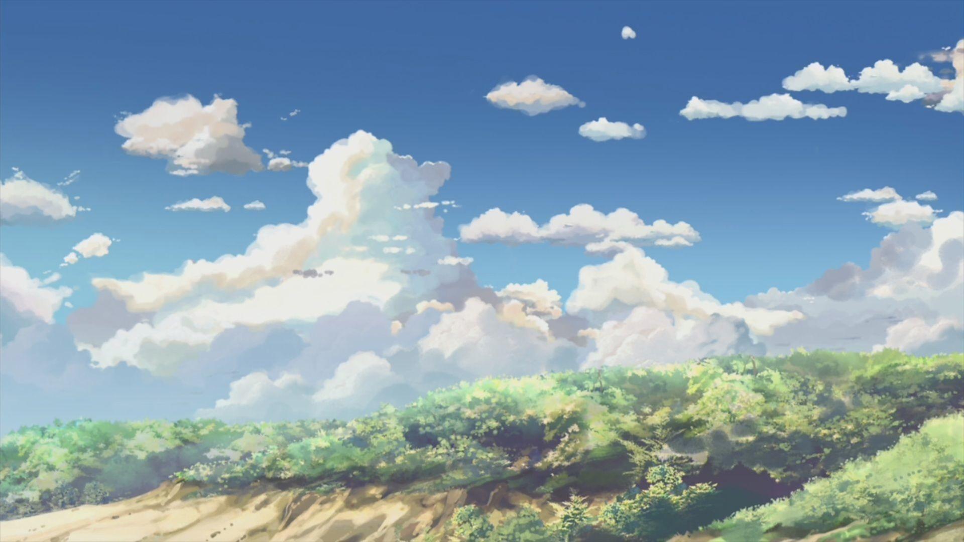 Anime Cloud Free Download Wallpaper