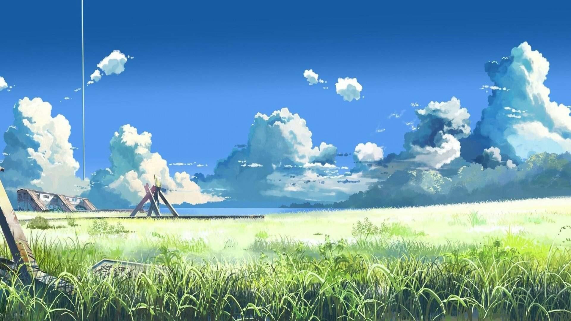 Anime Cloud wallpaper photo