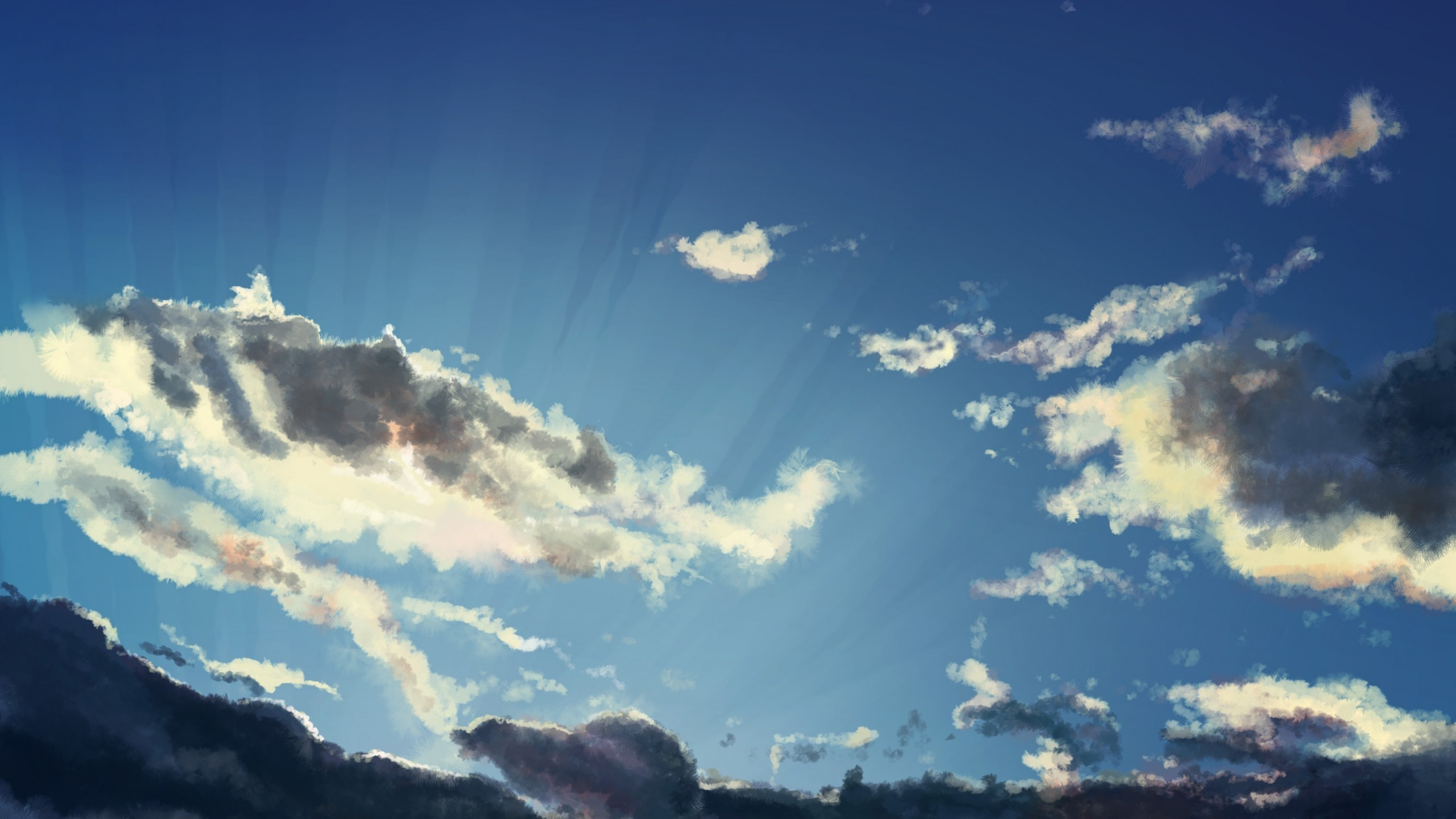 Anime Cloud Picture