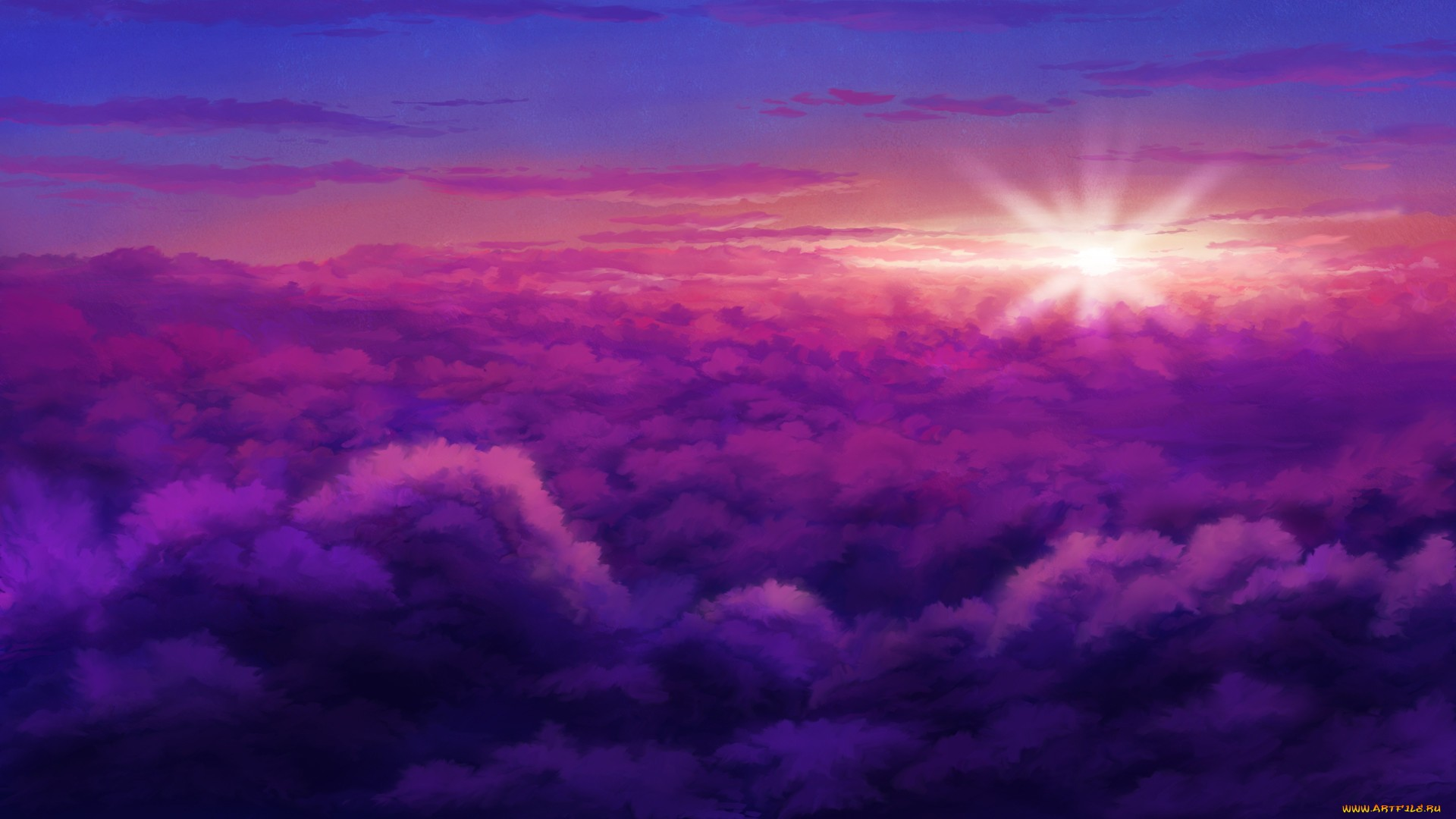 Anime Cloud Wallpaper Image