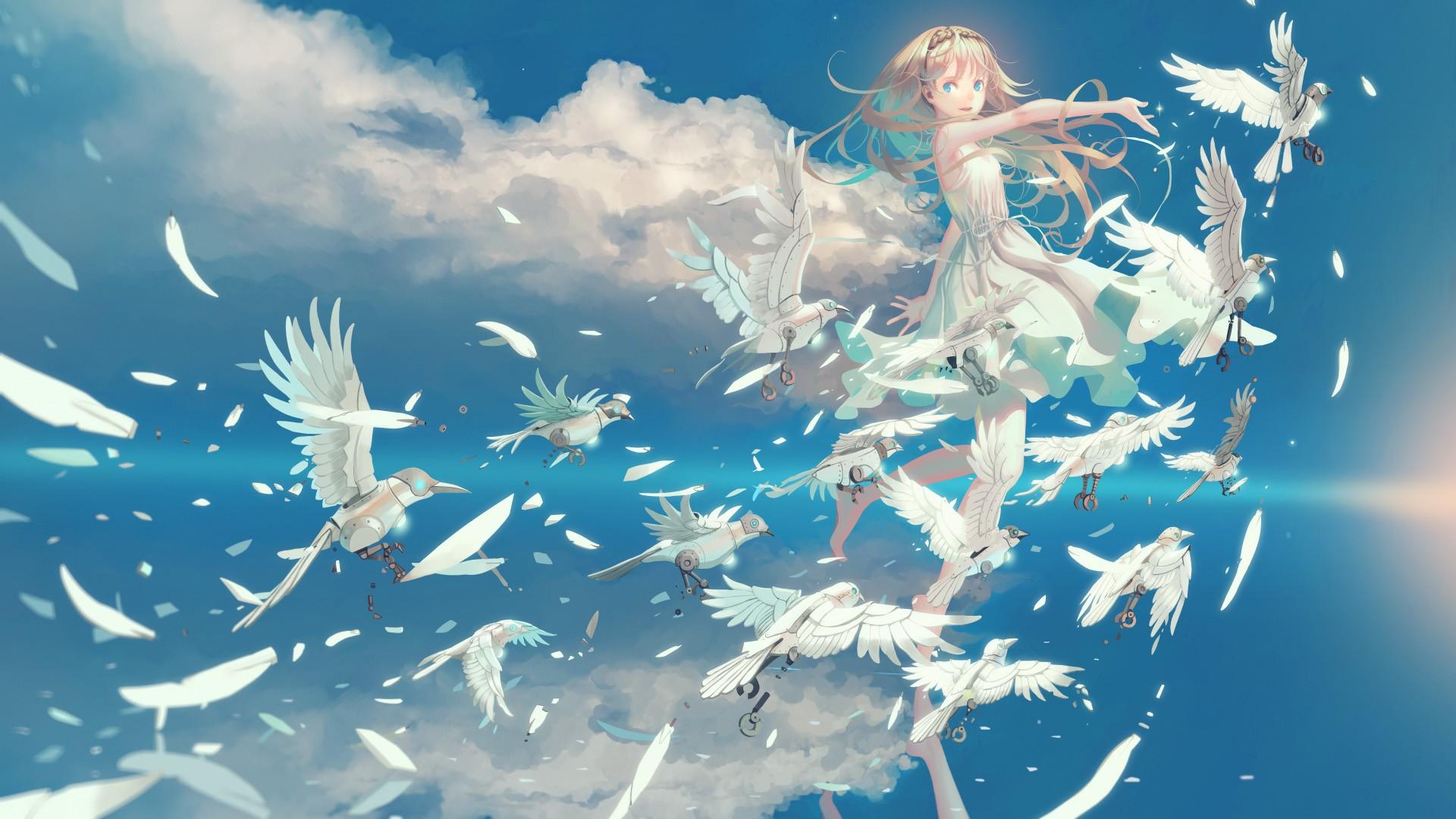 Anime Cloud computer wallpaper