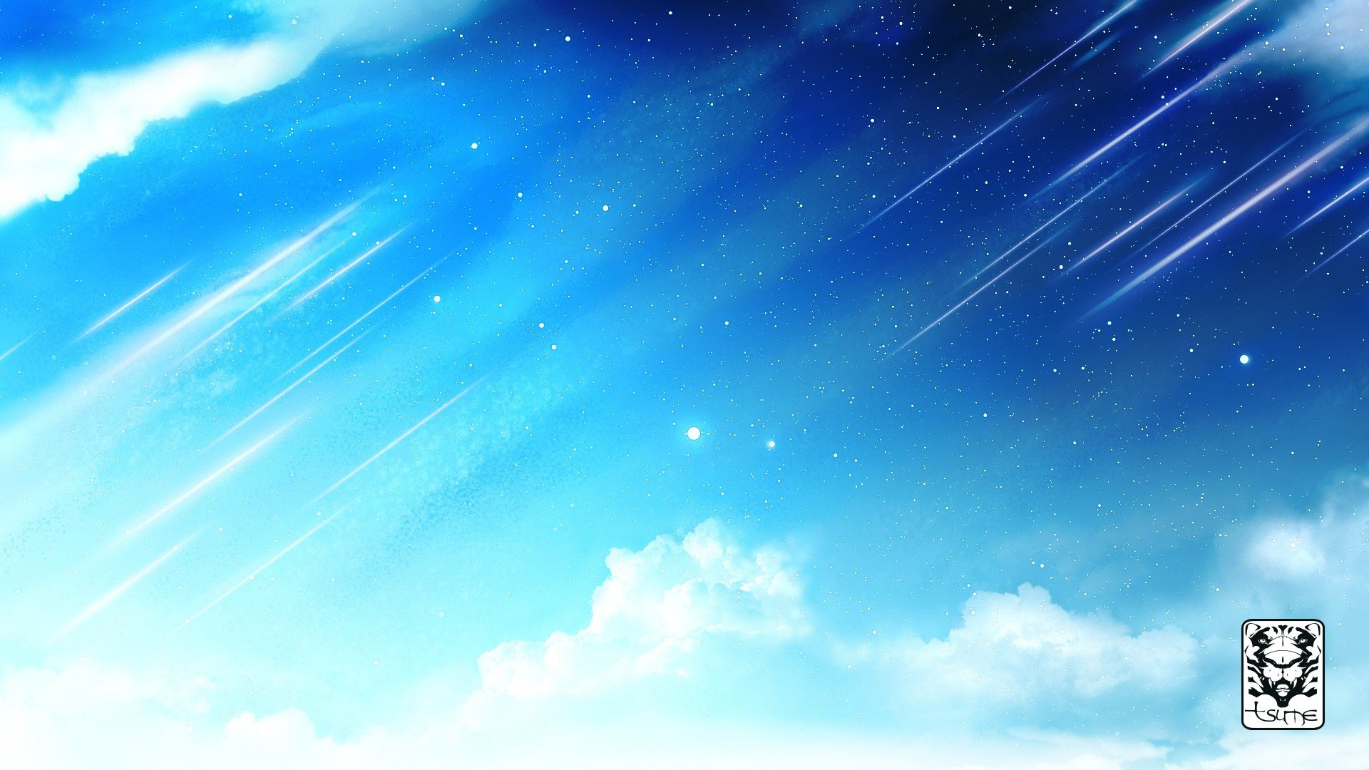 Anime Cloud Wallpaper and Background
