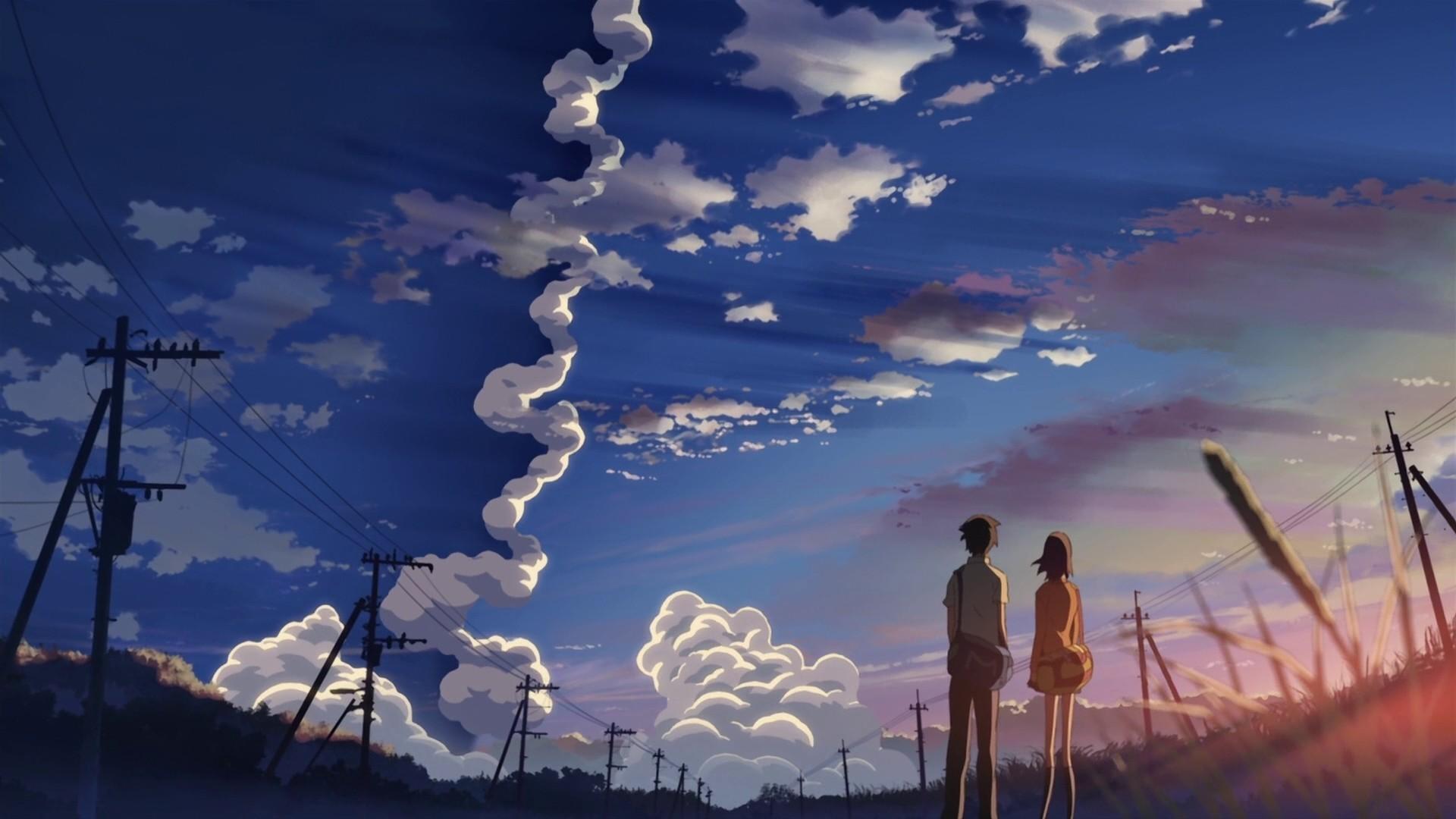 Anime Cloud HD Wallpaper