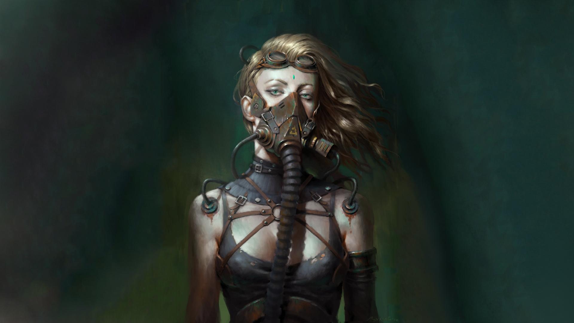 Cyberpunk Mask hd wallpaper download
