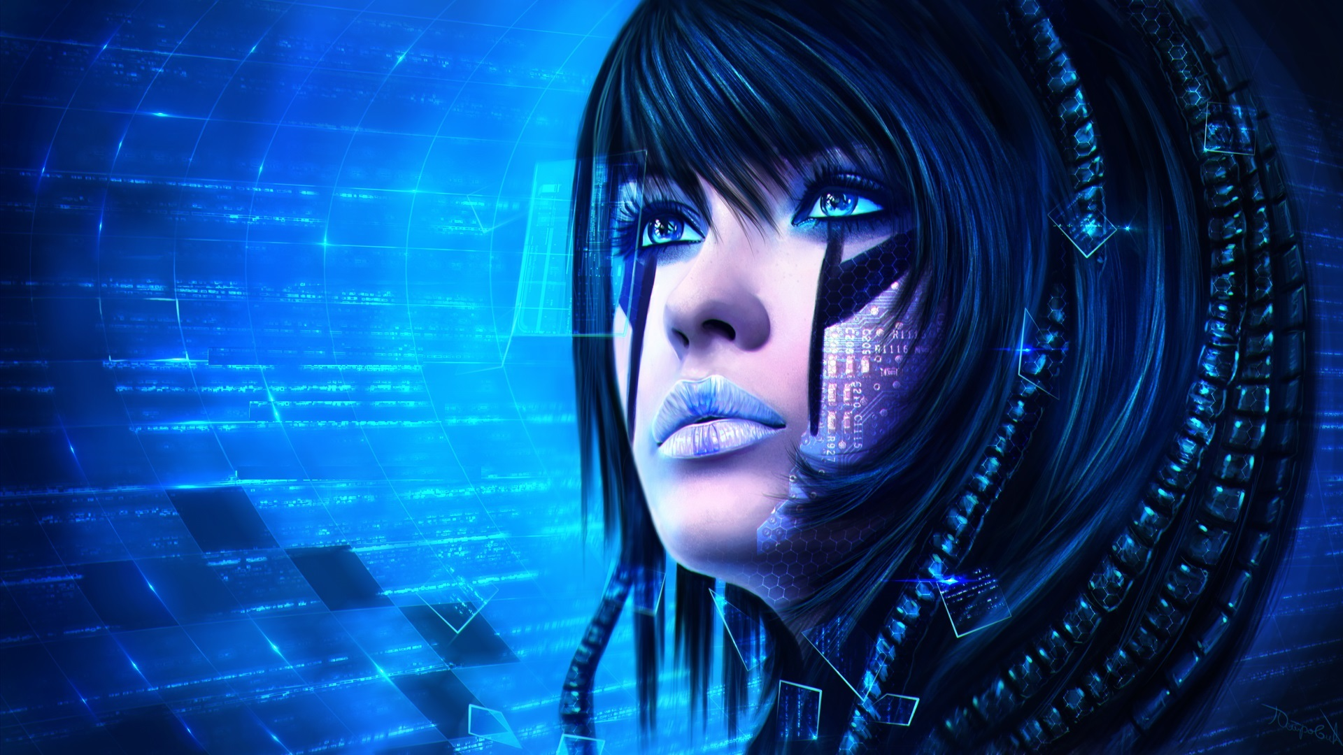Cyberpunk Mask High Definition