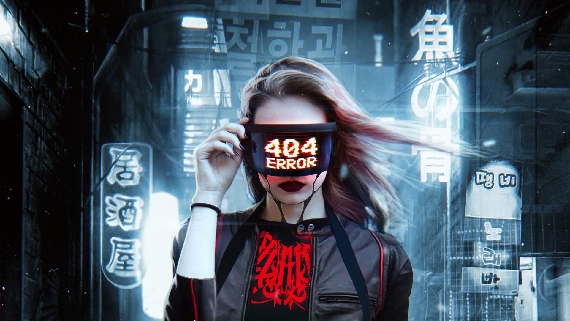 Cyberpunk Mask Wallpaper Image