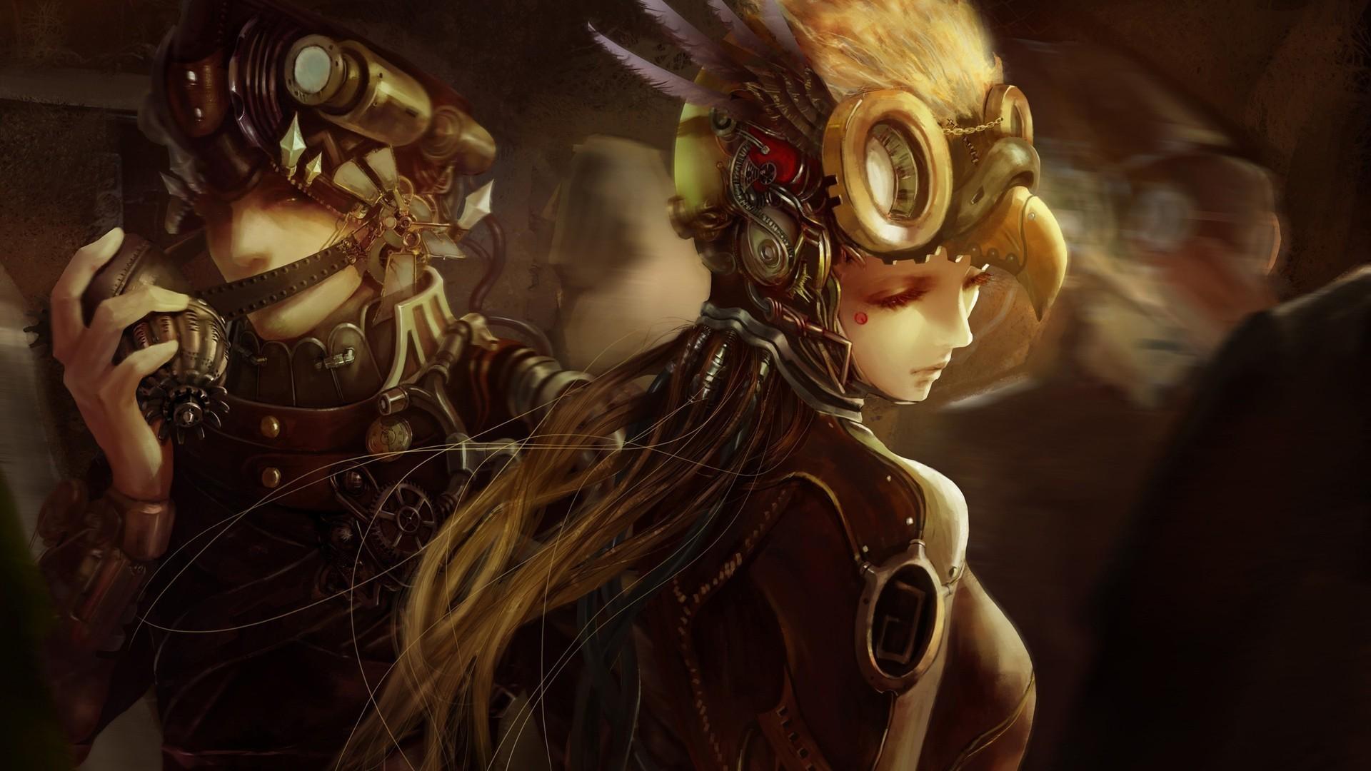 Cyberpunk Mask HD 1080 wallpaper