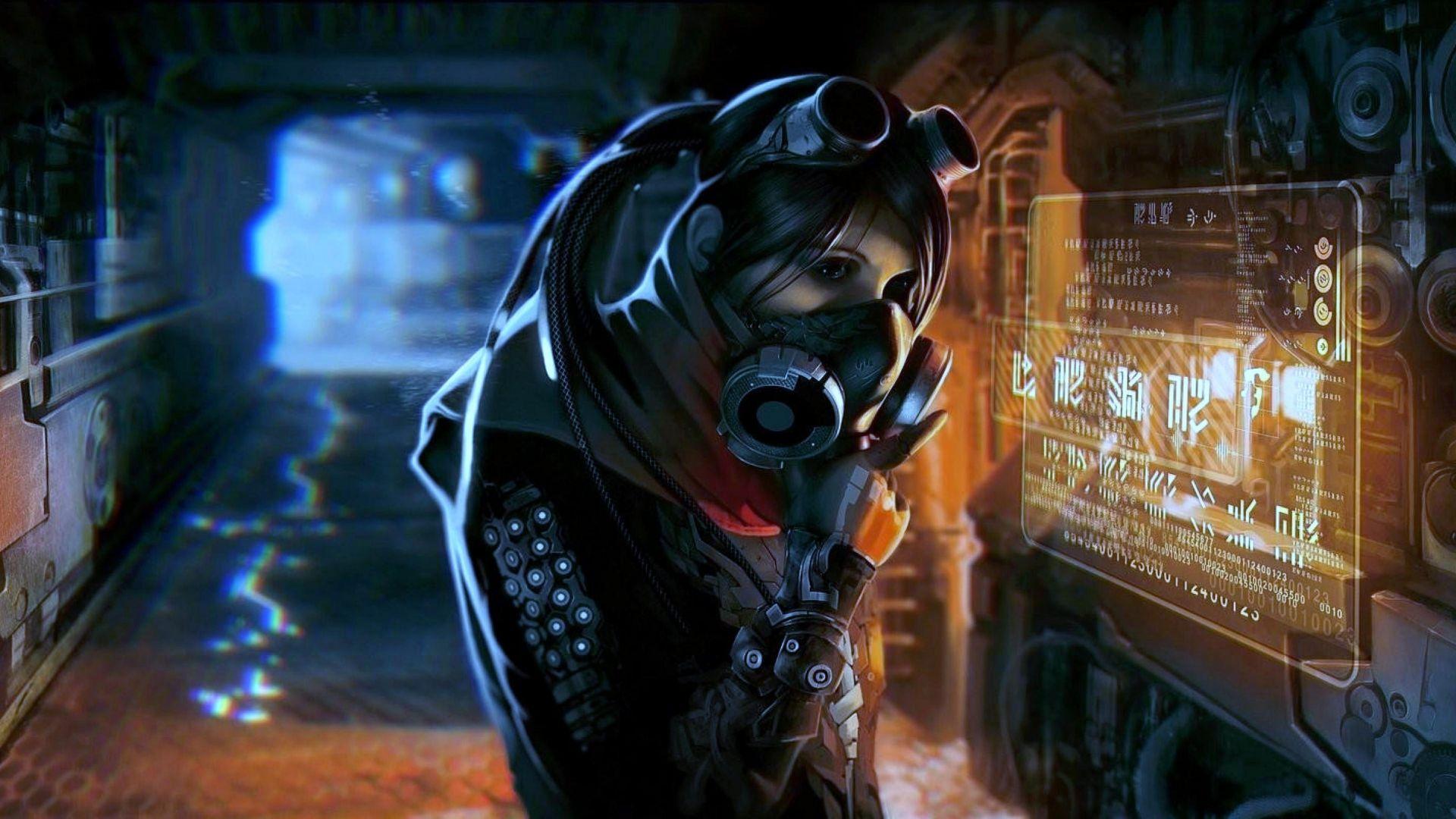 Cyberpunk Mask Image