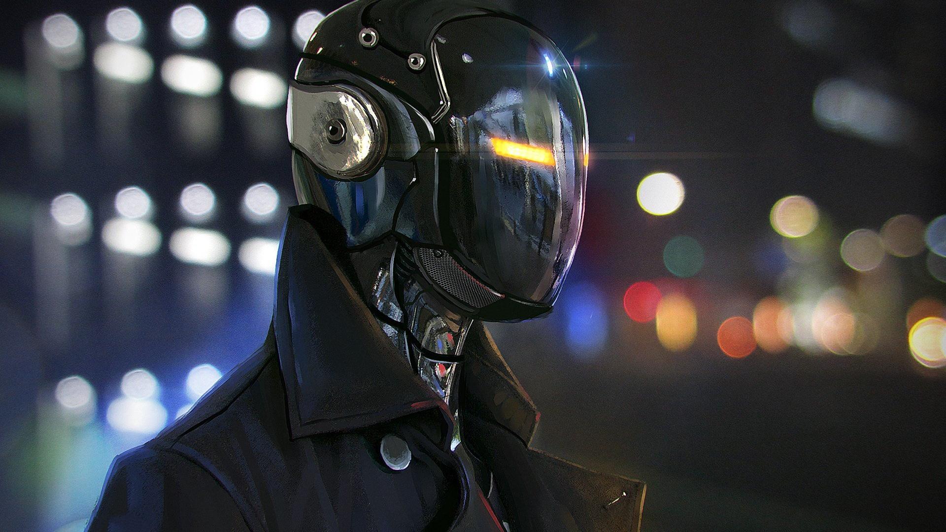 Cyberpunk Mask High Quality