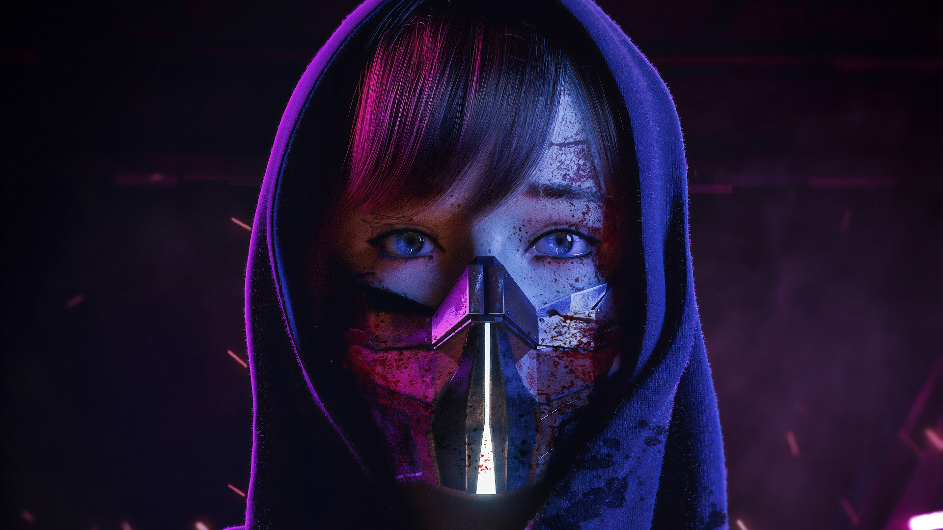 Cyberpunk Mask HD Download