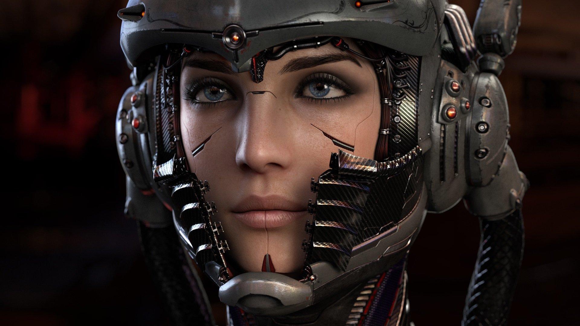 Cyberpunk Mask a wallpaper