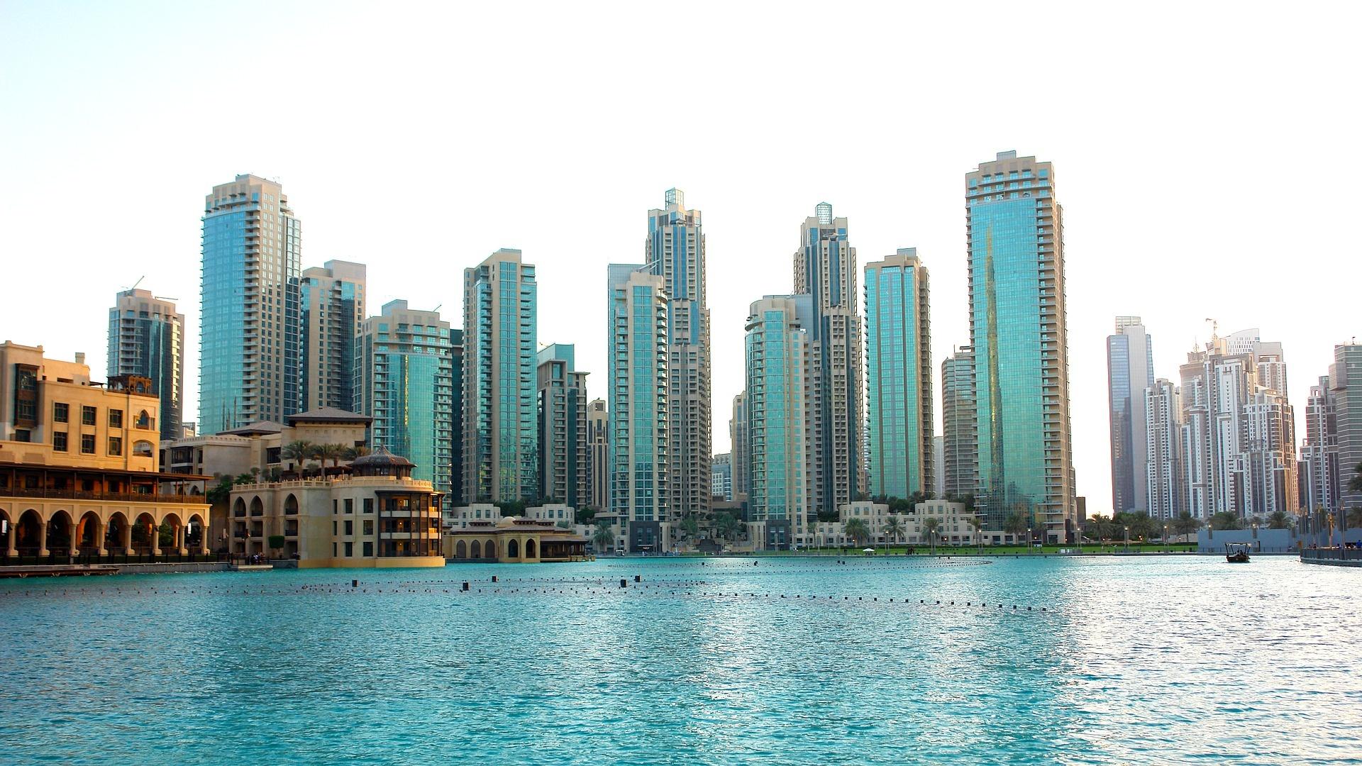 Dubai background wallpaper