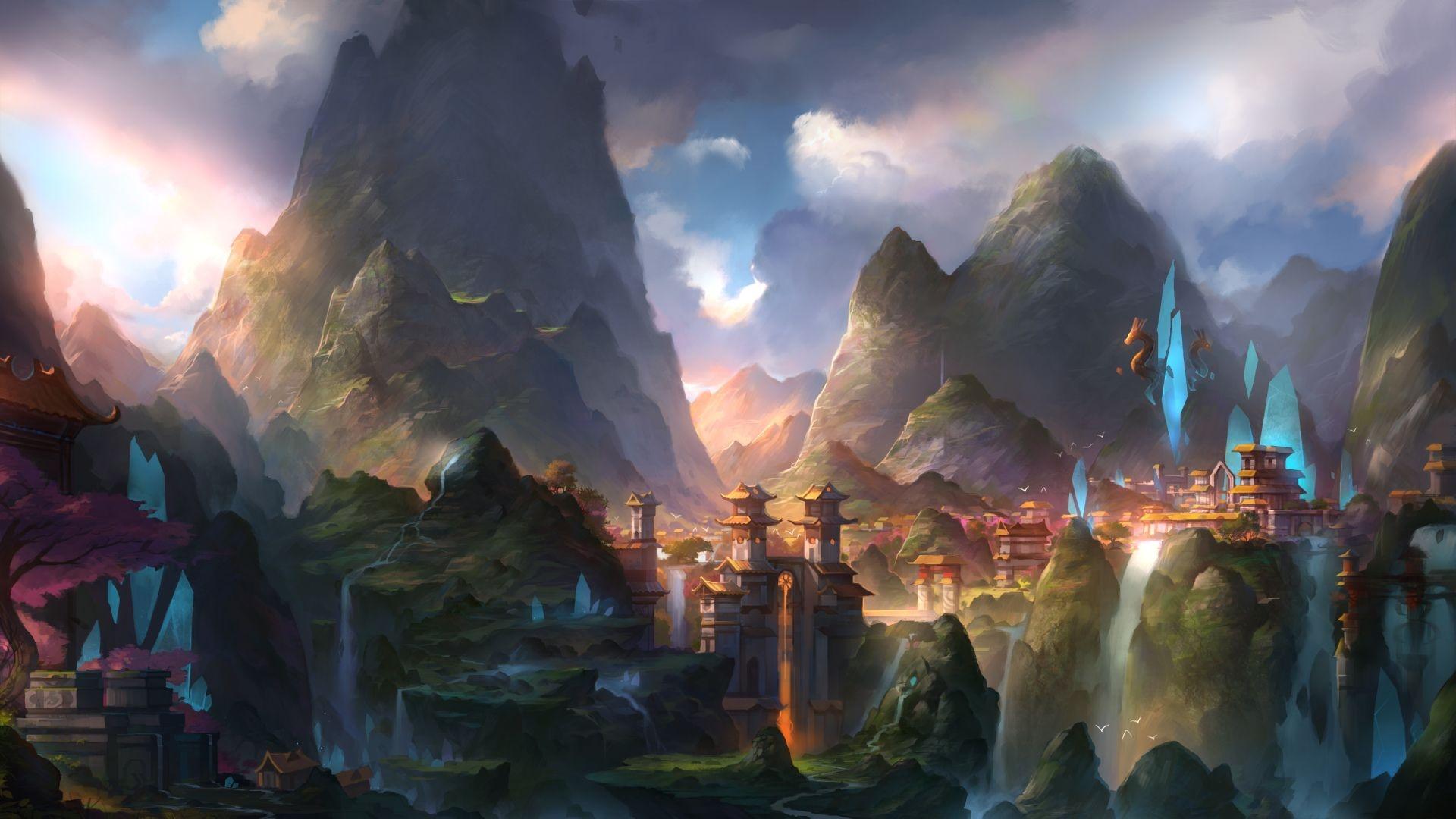 Fantasy Landsсape Wallpaper Picture