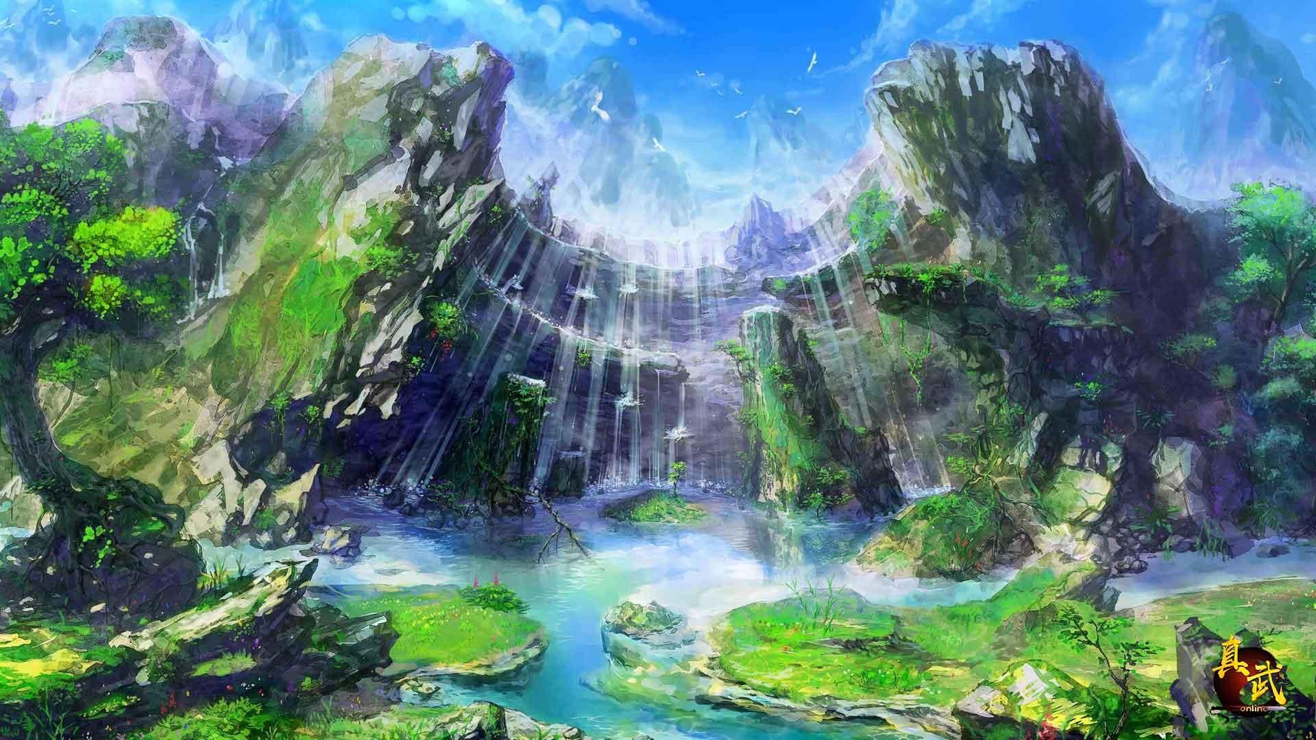 Fantasy Landsсape PC Wallpaper HD