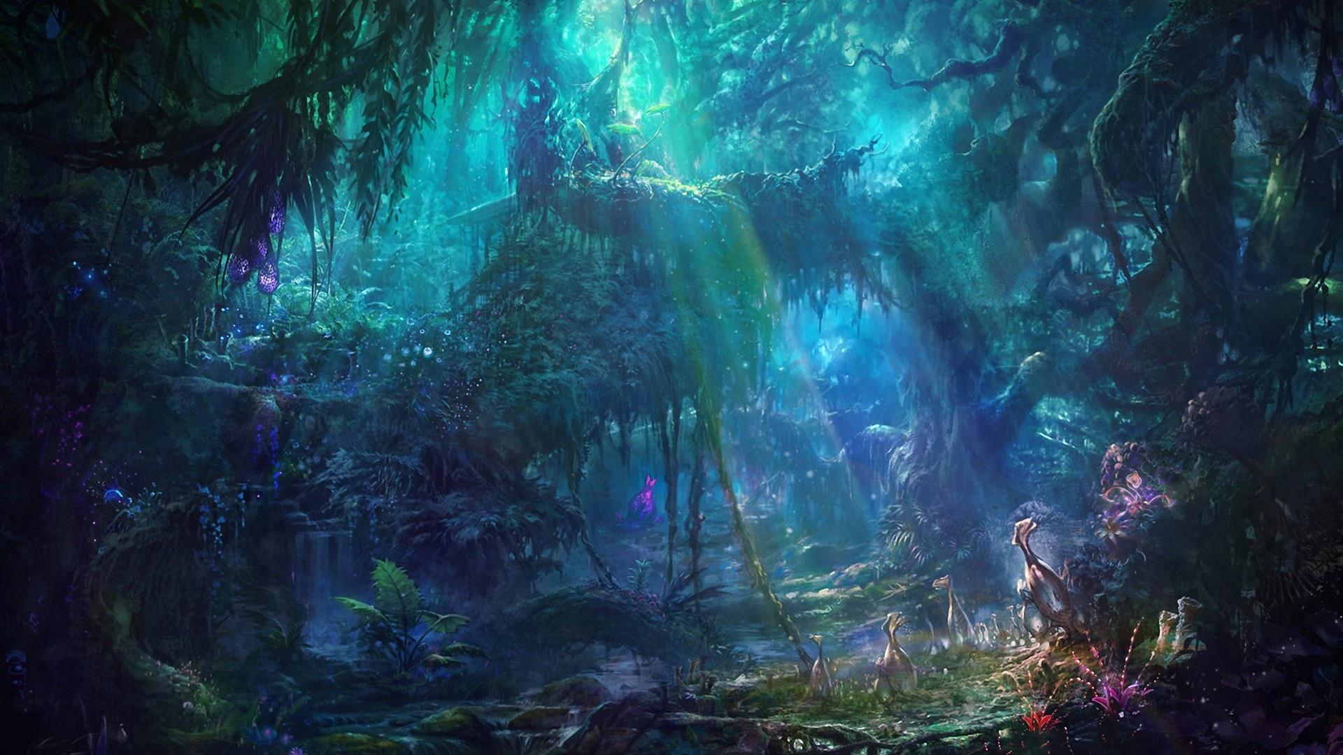 Fantasy Landsсape hd wallpaper 1080