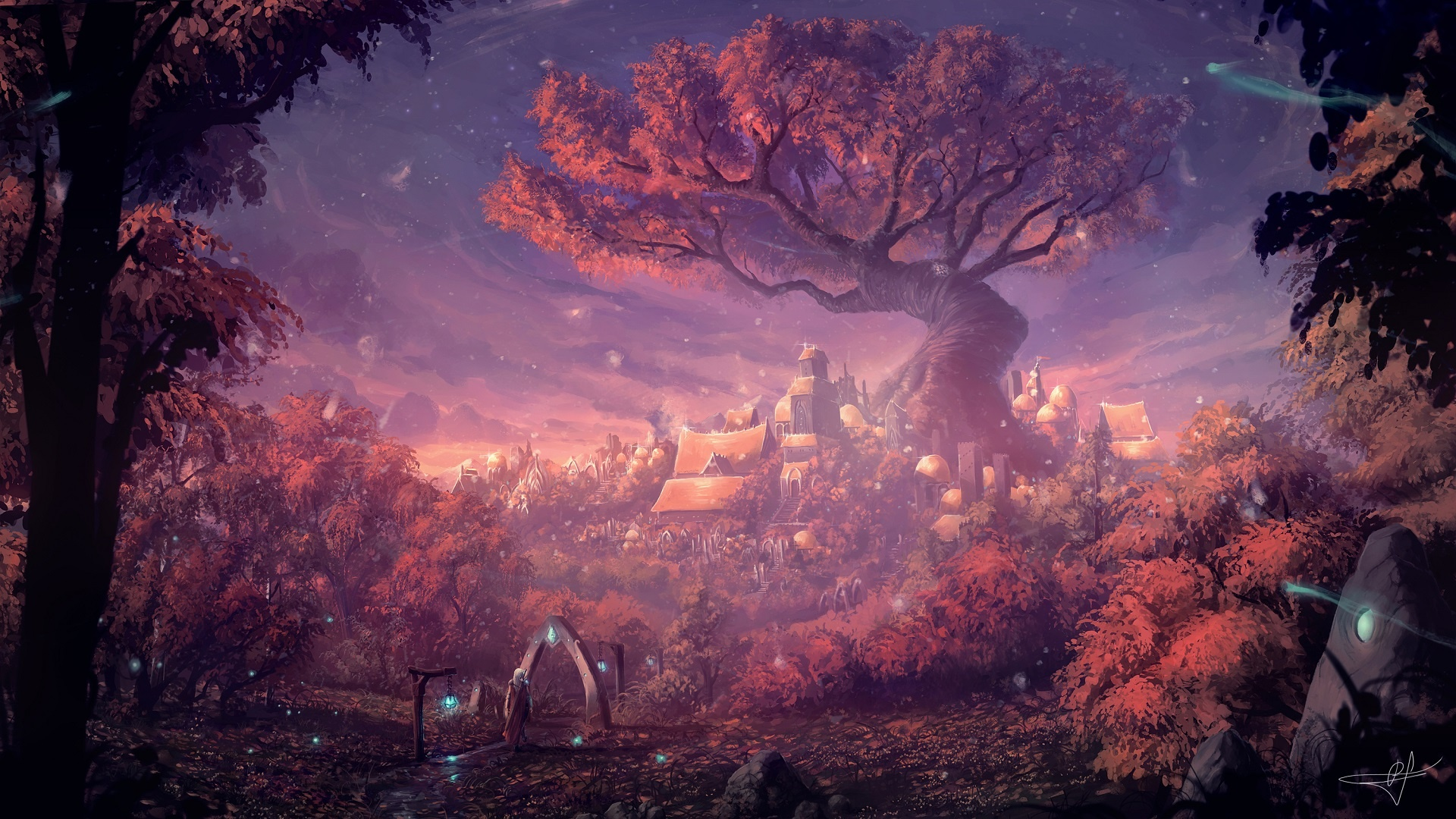 Fantasy Landsсape pc wallpaper