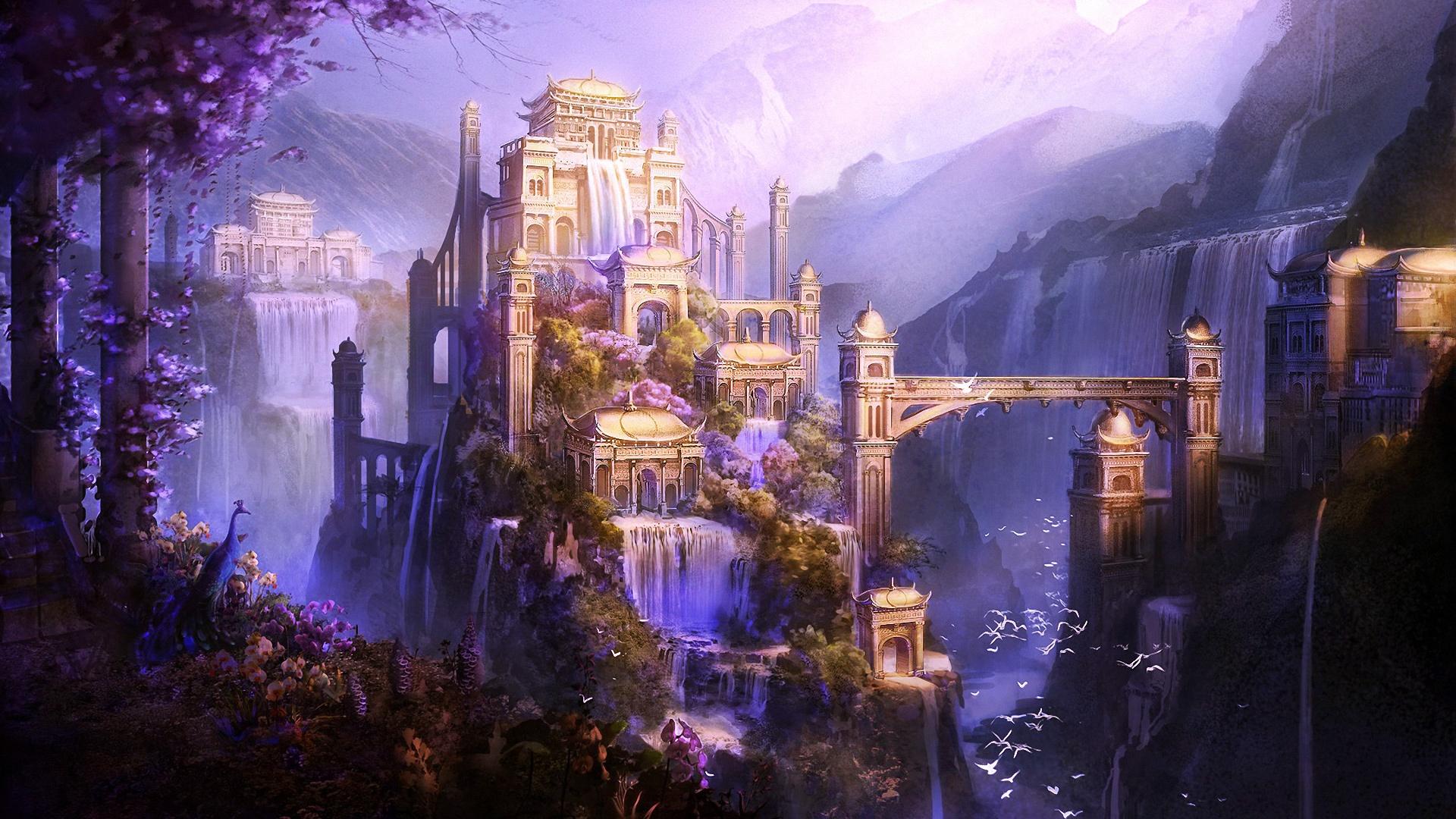 Fantasy Landsсape free download wallpaper