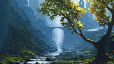 Fantasy Landsсape wallpaper image