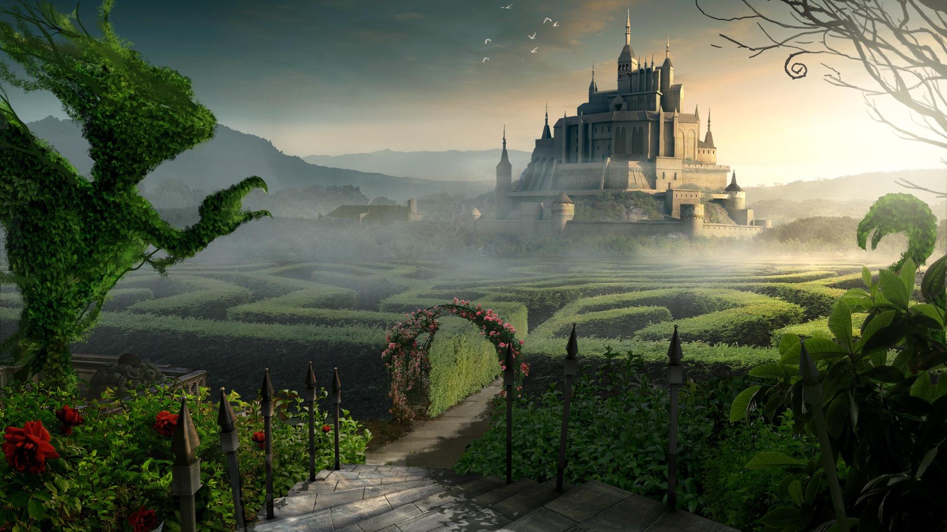 Fantasy Landsсape wallpaper download