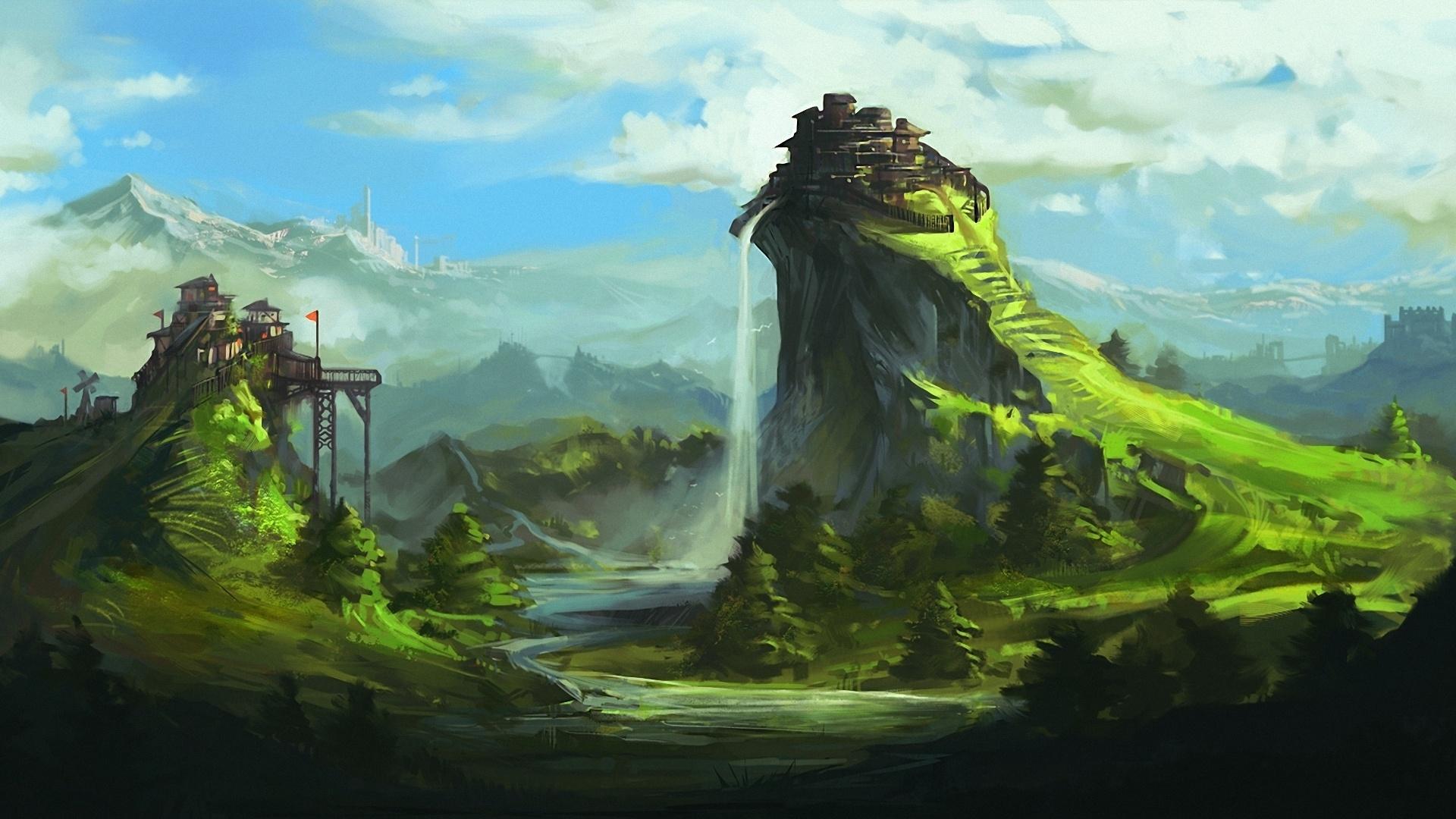 Fantasy Landsсape Free Wallpaper