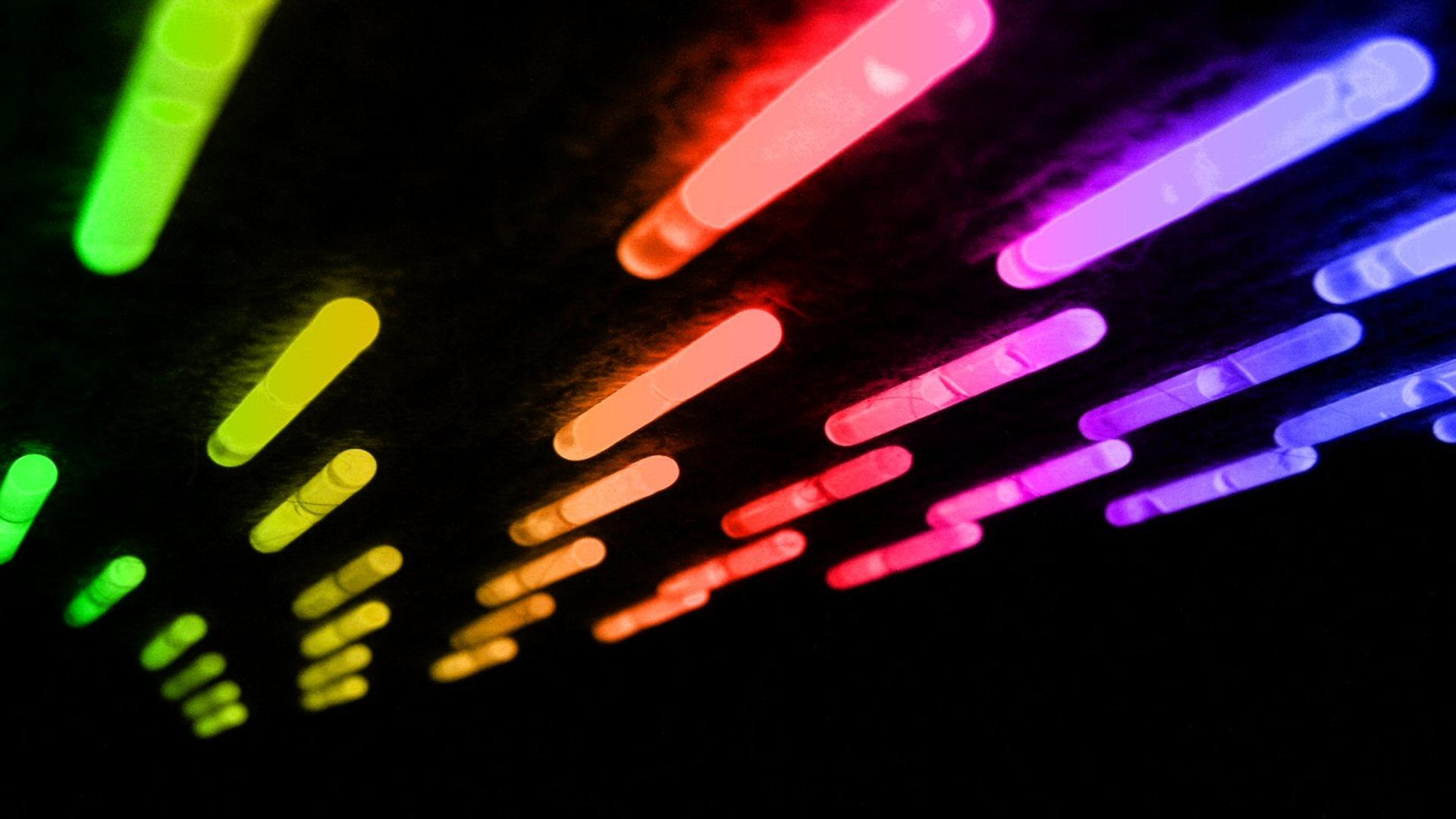 Glow In The Dark Background Wallpaper HD
