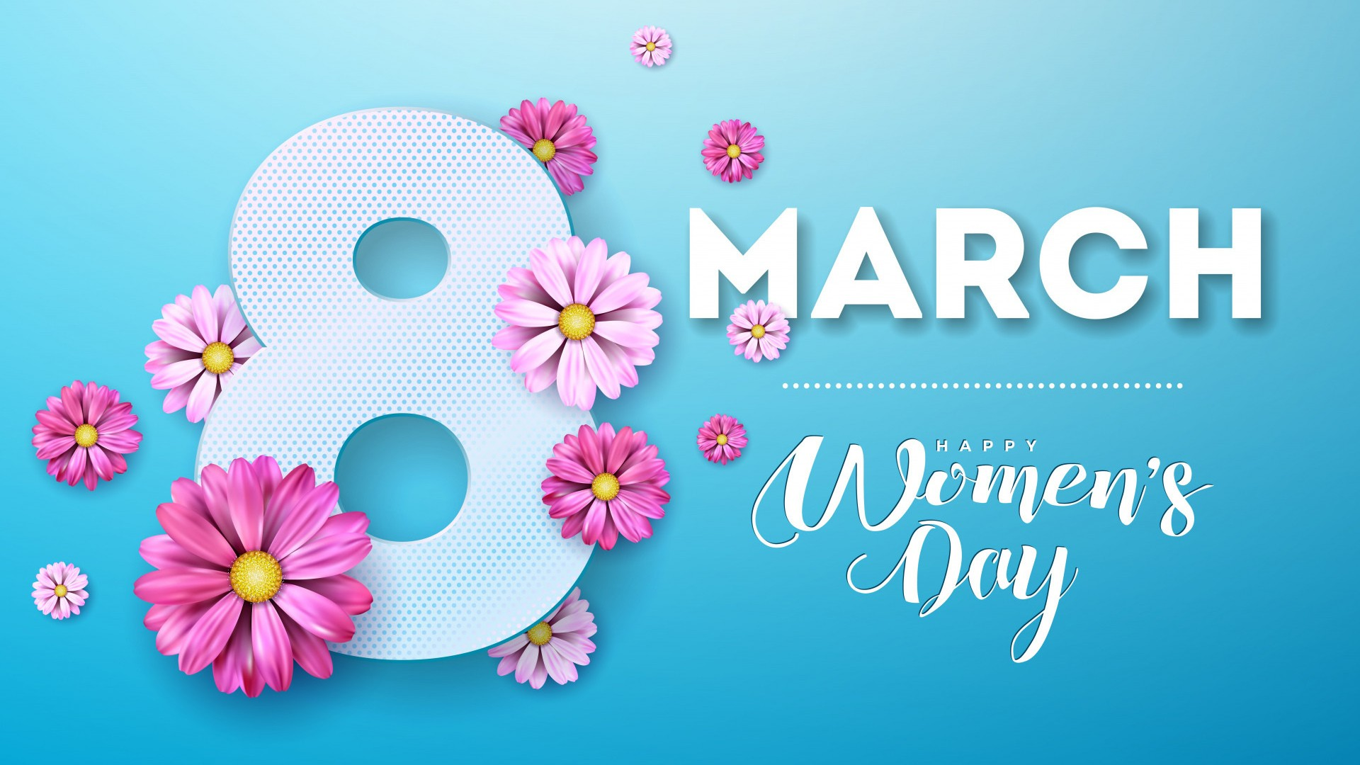 Happy Women's Day high quality image
