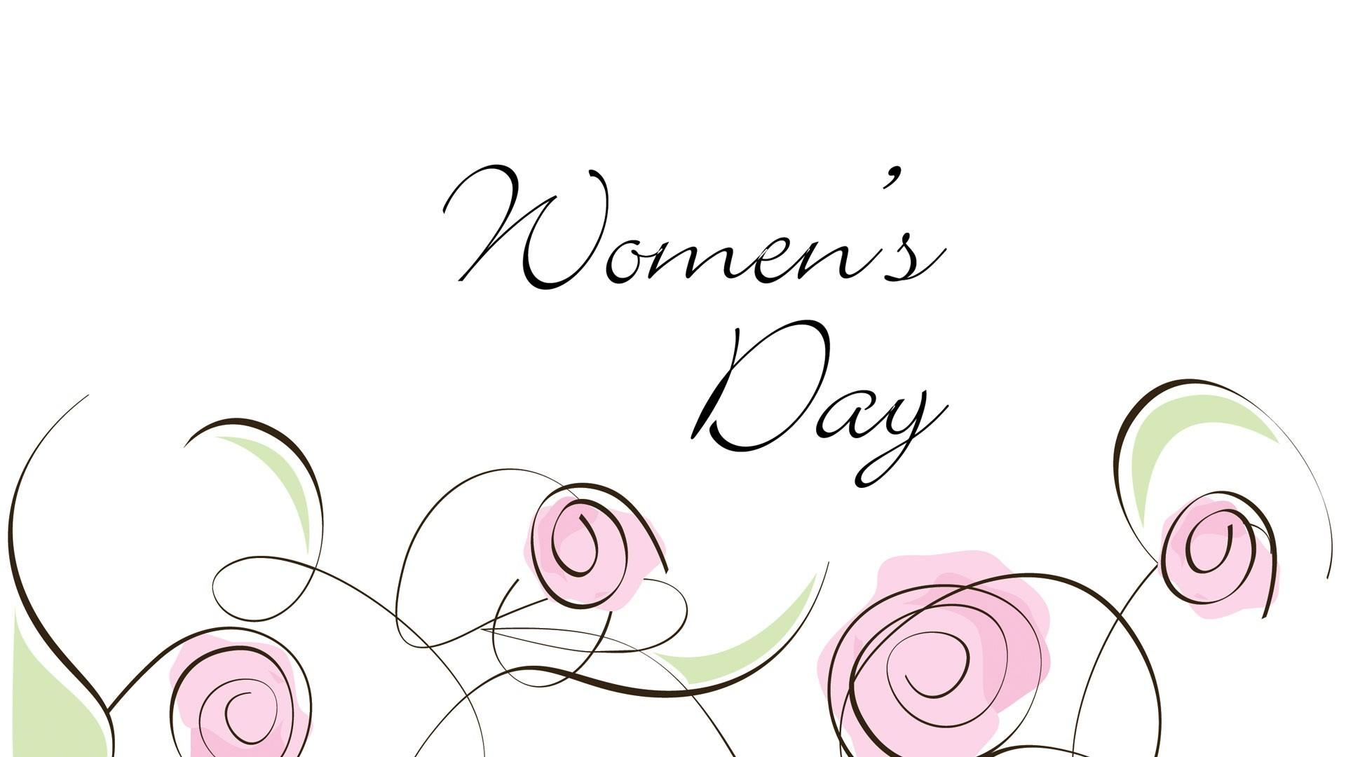 Happy Women's Day image theme
