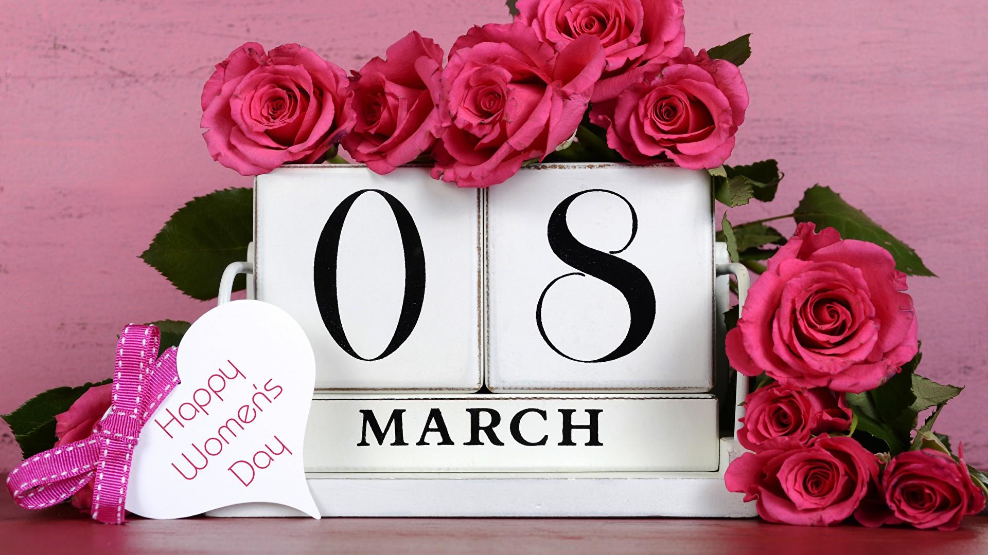 Happy Women's Day desktop image