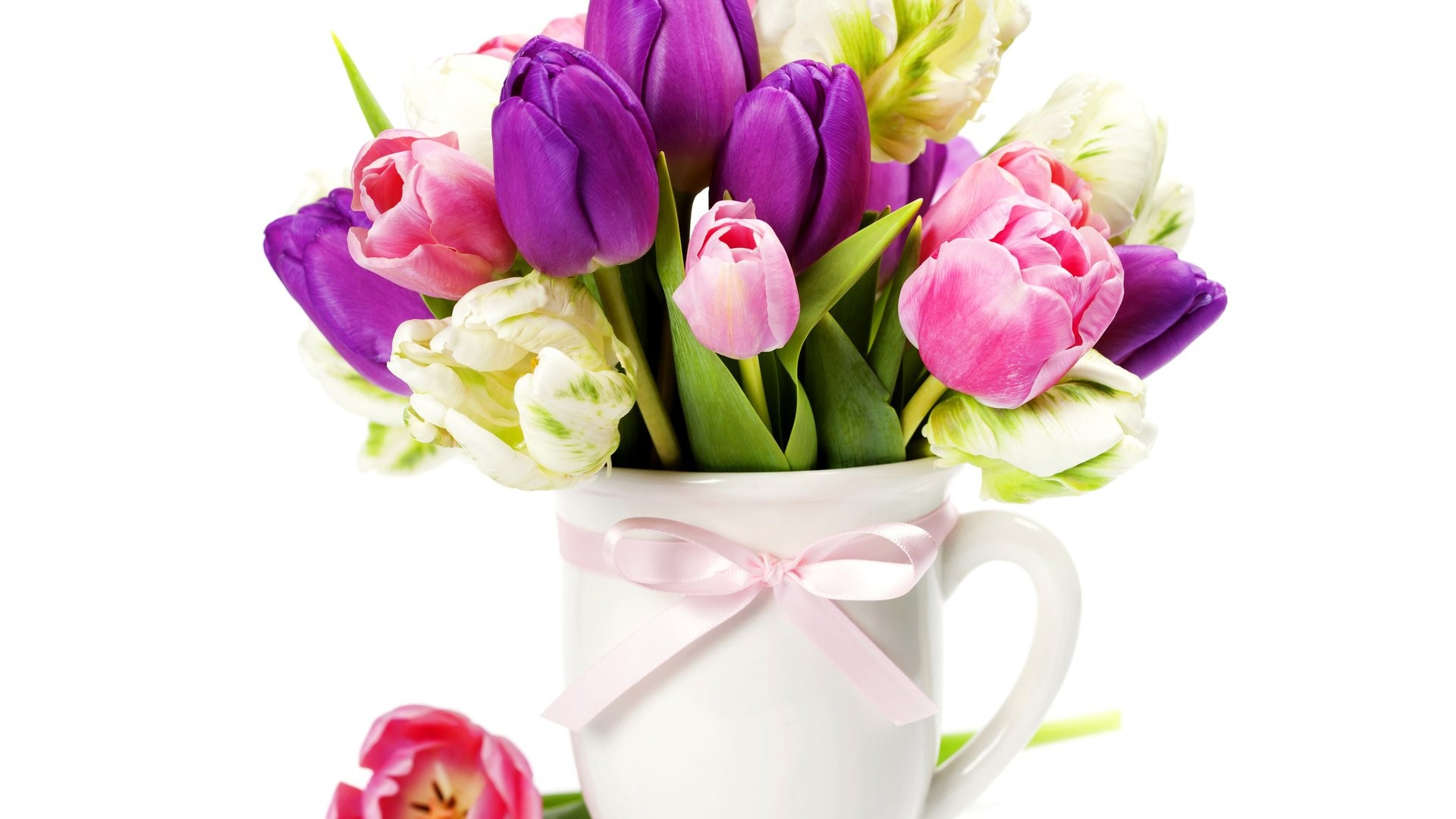 International Women's Day Flowers image theme