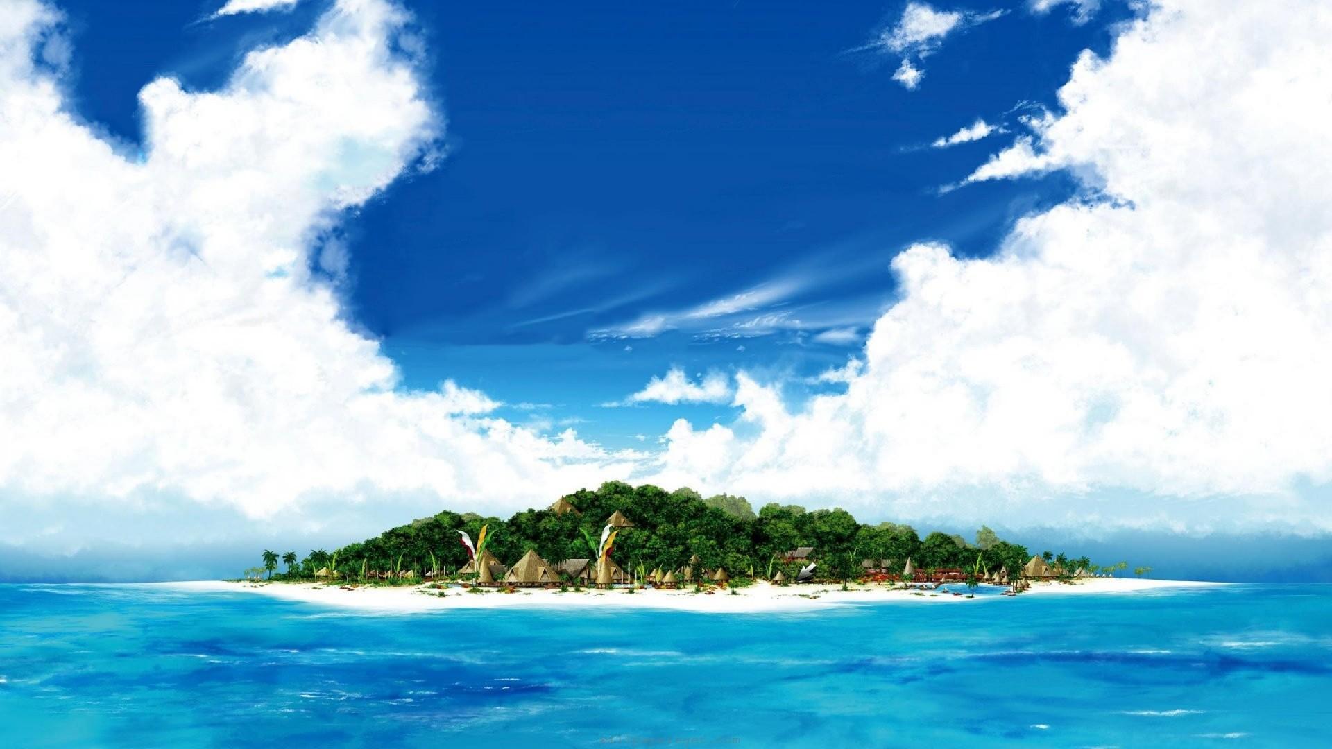 Island hd wallpaper download