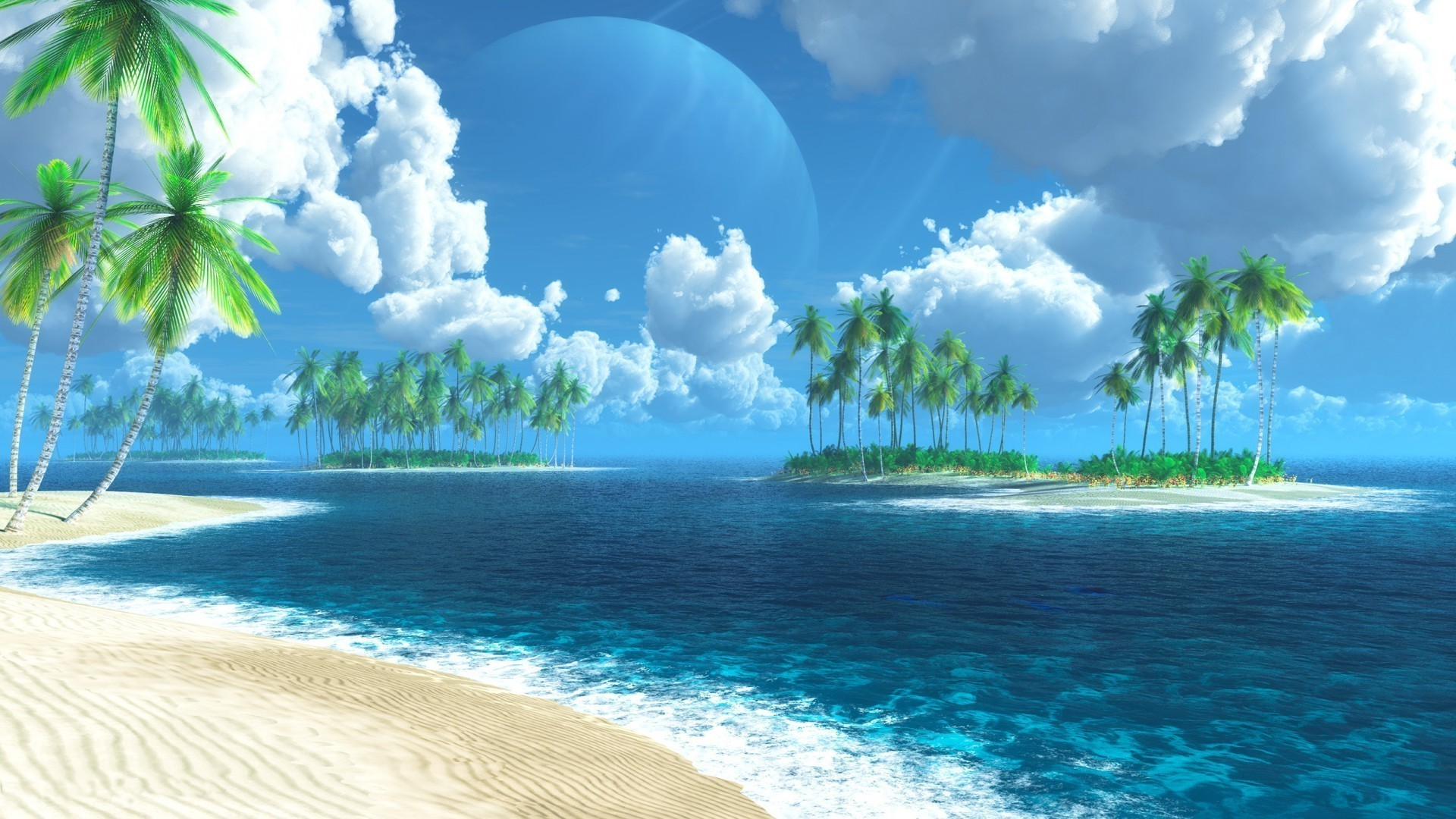 Island wallpaper image