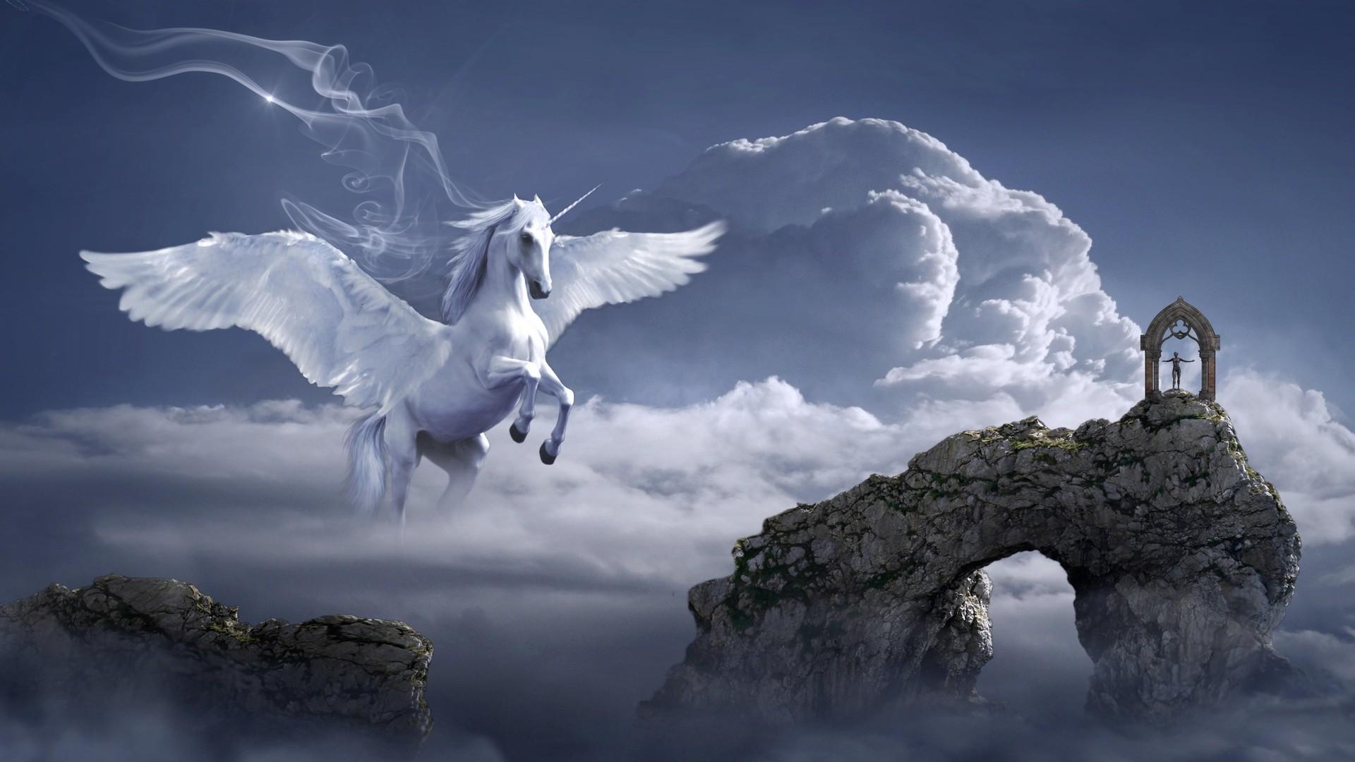 Pegasus HD Desktop Wallpaper