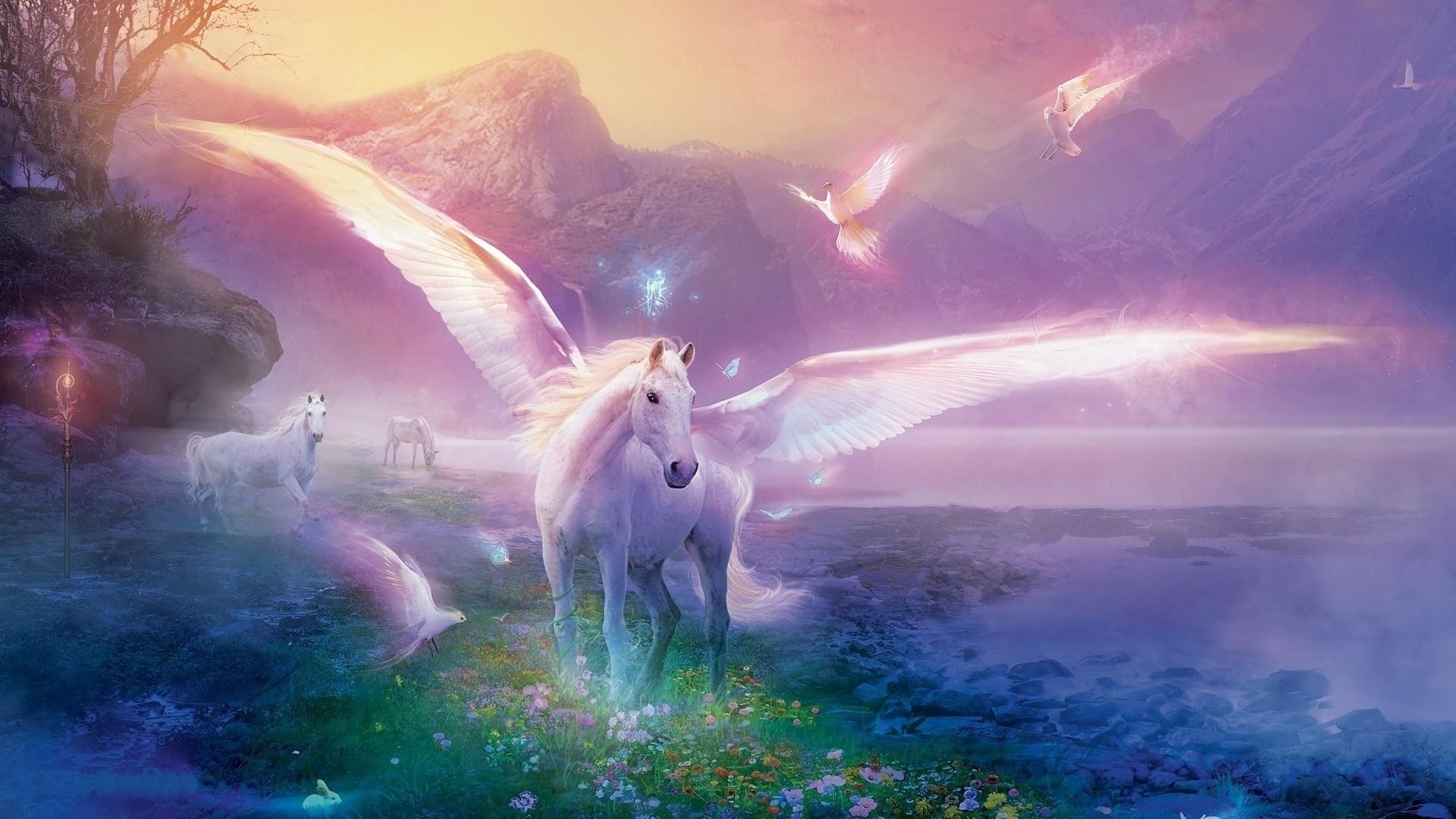 Pegasus HD Wallpaper