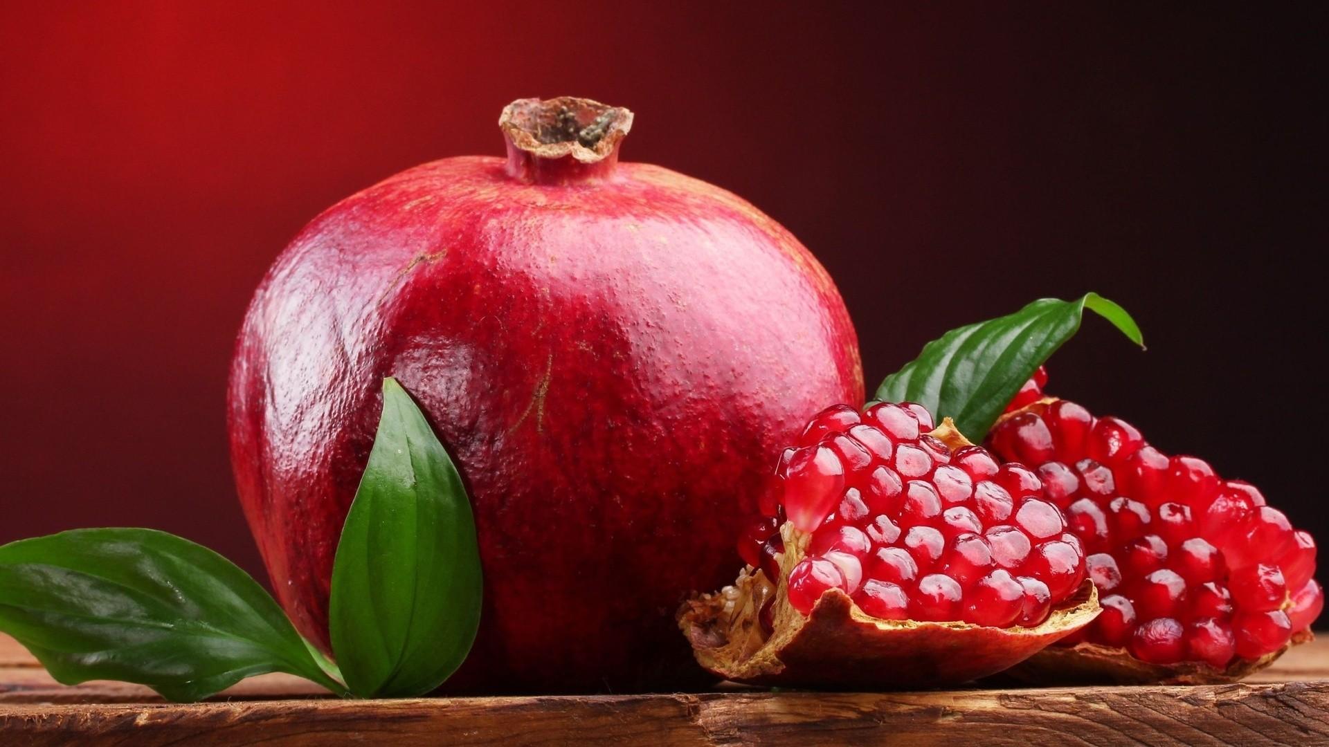 Pomegranate background wallpaper