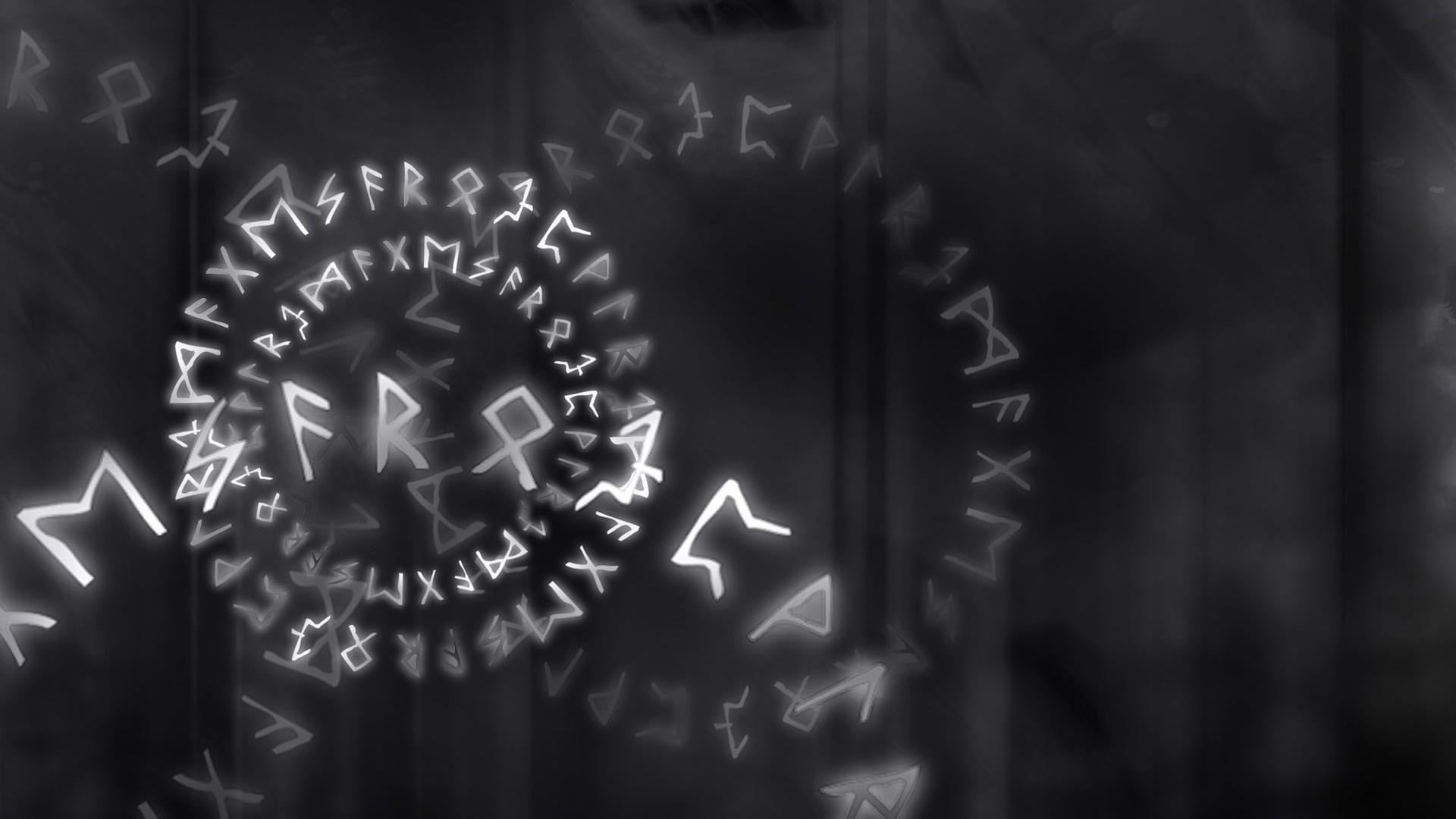 Runes Free Wallpaper