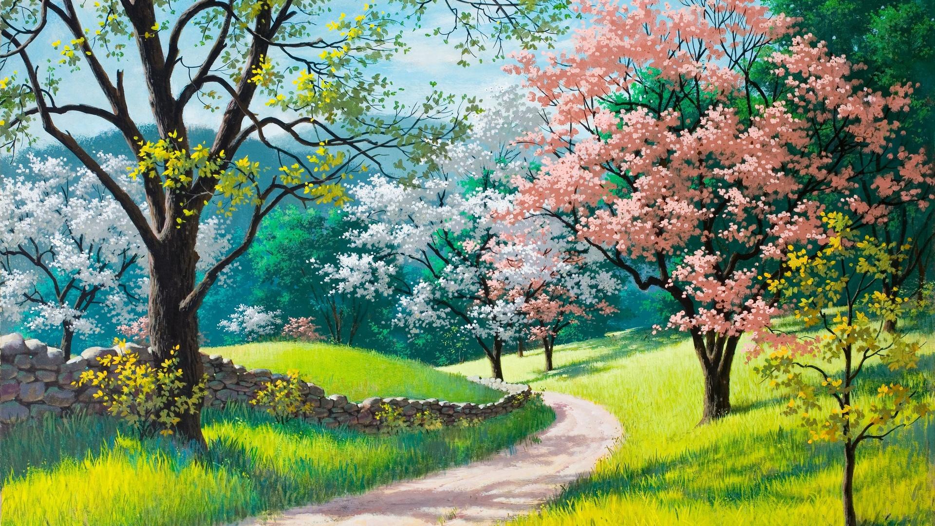 Springtime download wallpaper image