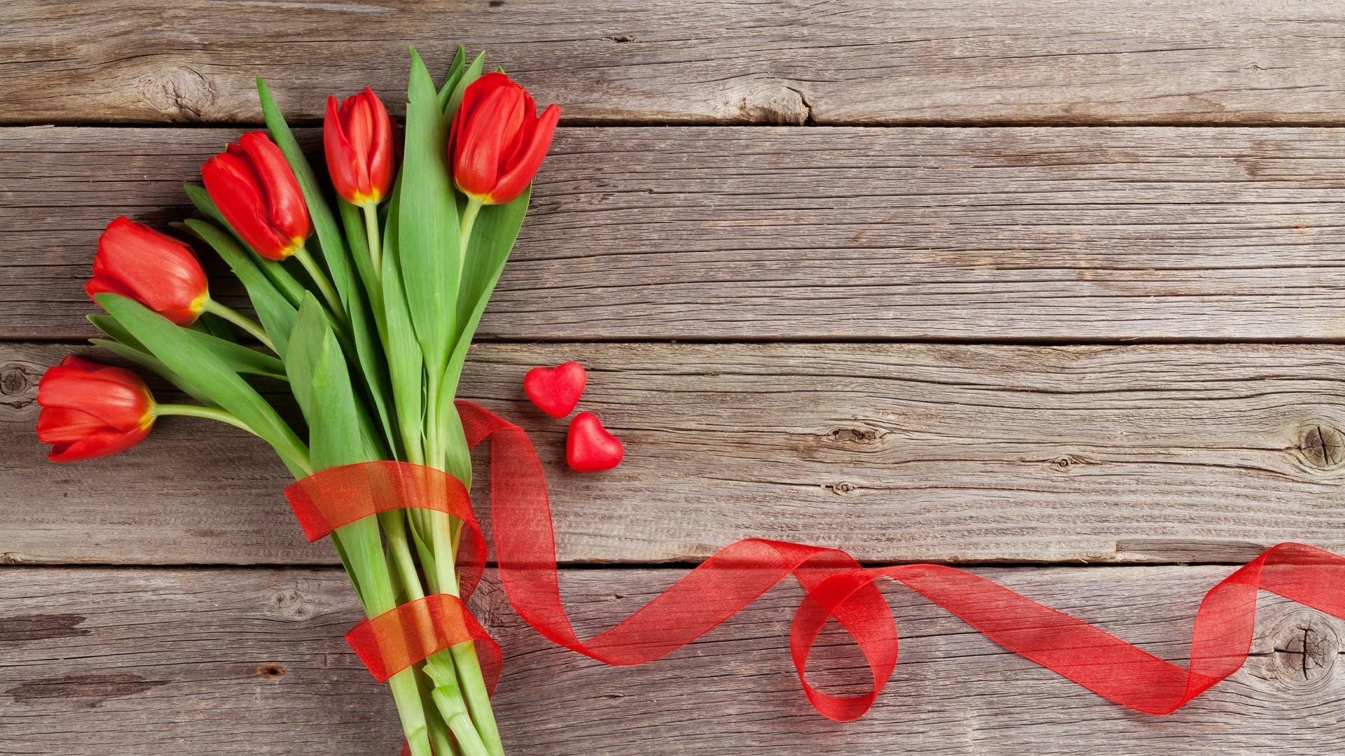 Women's Day Flower image