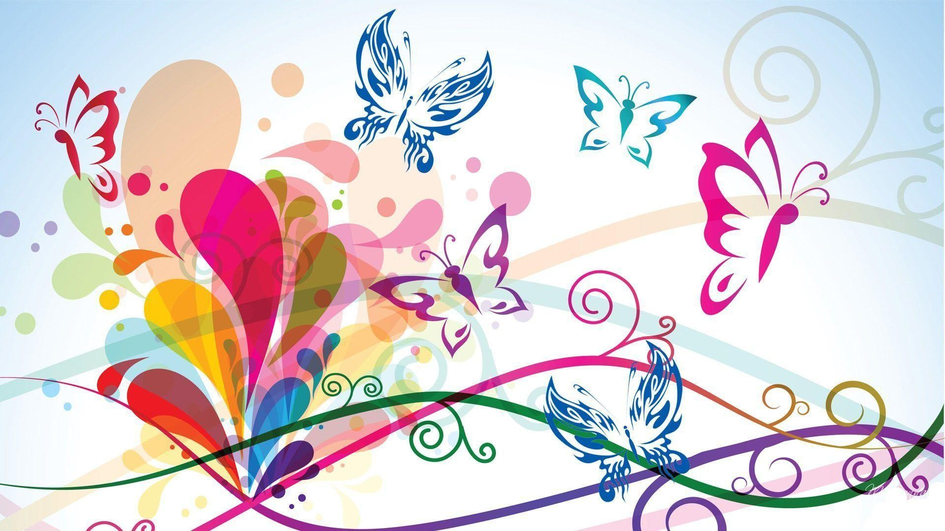 Women's Day Vector Flowers wallpaper picture