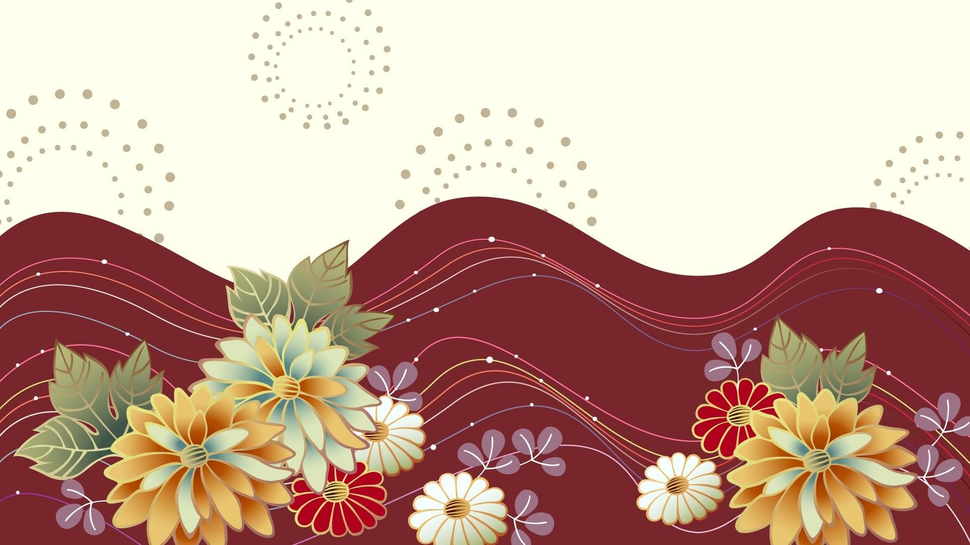 Women's Day Vector Flowers full hd image
